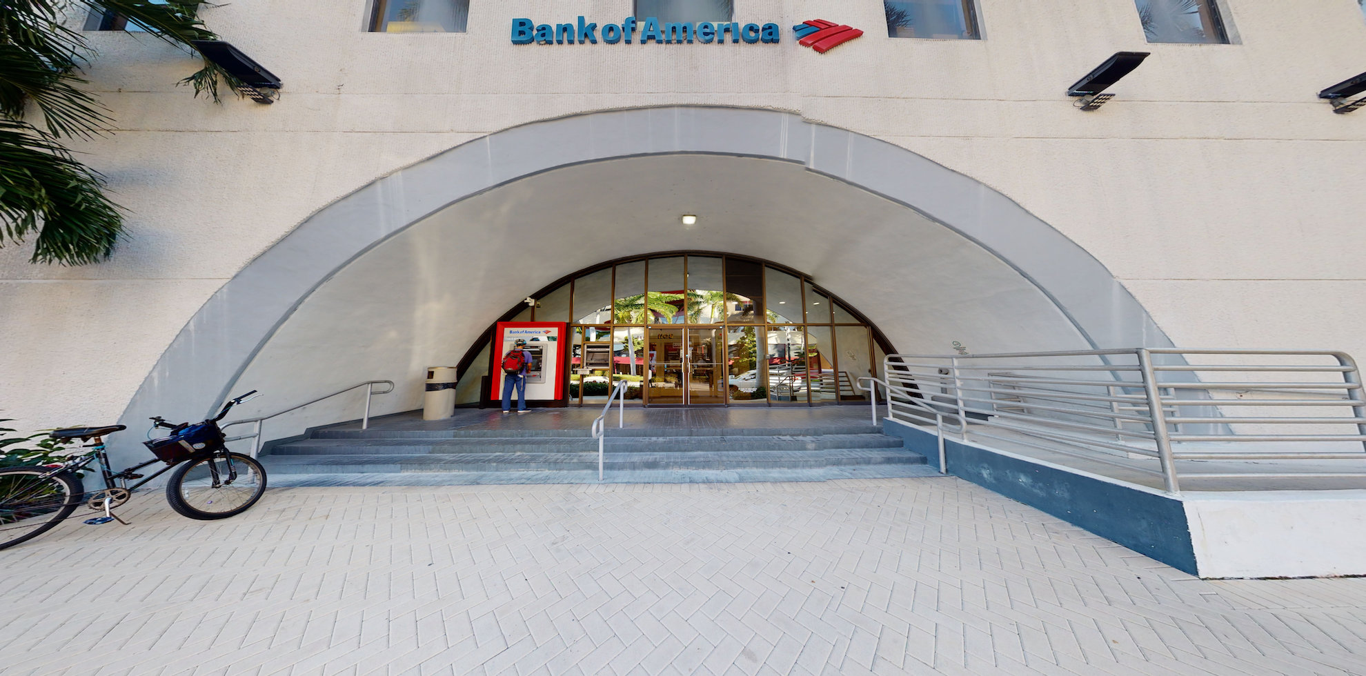 Bank of America financial center with drive-thru ATM | 1108 Kane Concourse, Bay Harbor Islands, FL 33154