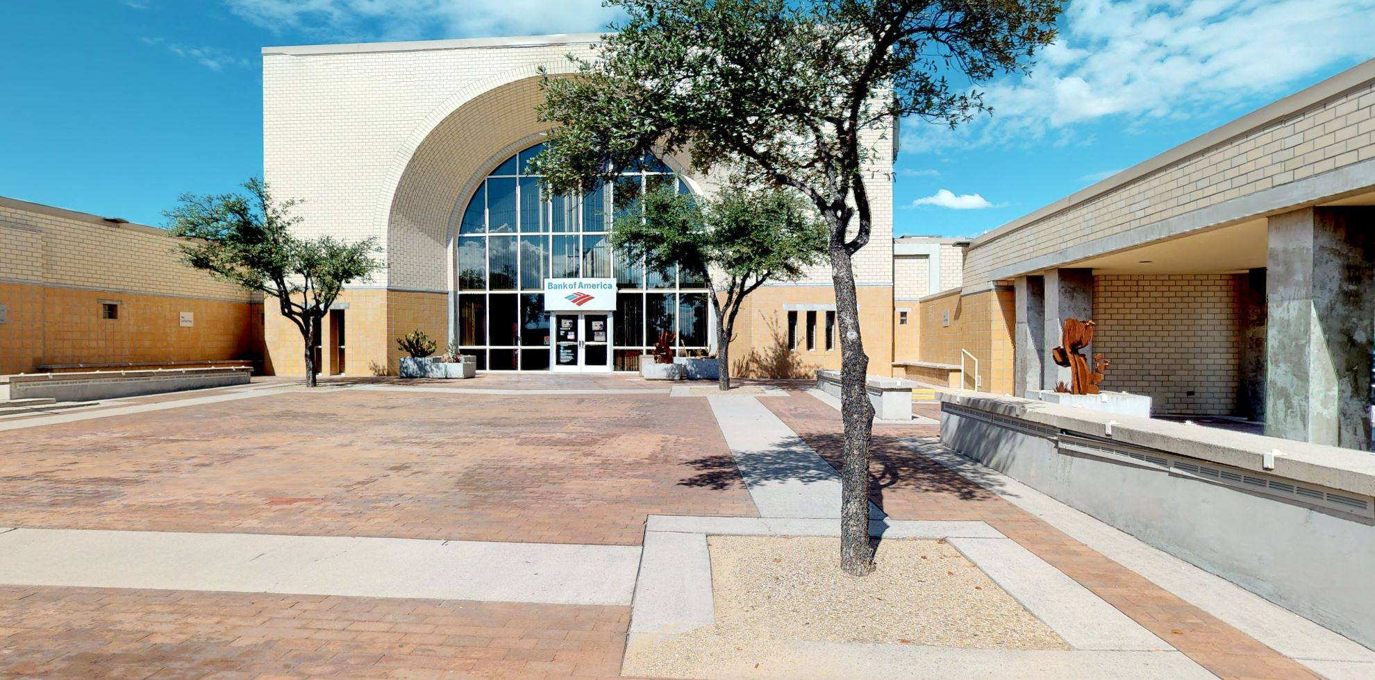 Bank of America financial center with drive-thru ATM   2080 W Ina Rd, Tucson, AZ 85704