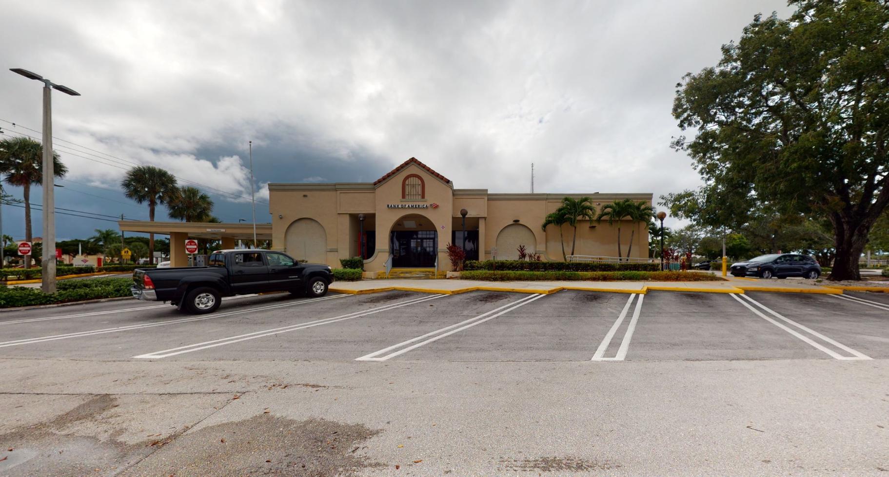 Bank of America financial center with drive-thru ATM   105 N Congress Ave, Boynton Beach, FL 33426