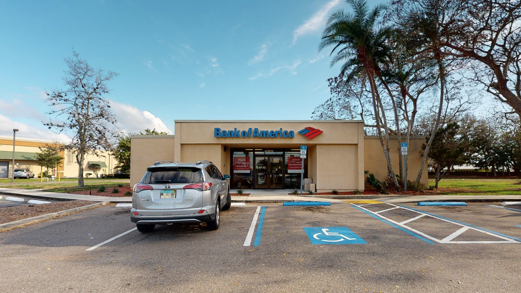 Bank of America financial center with drive-thru ATM and teller   4302 State Road 64 E, Bradenton, FL 34208