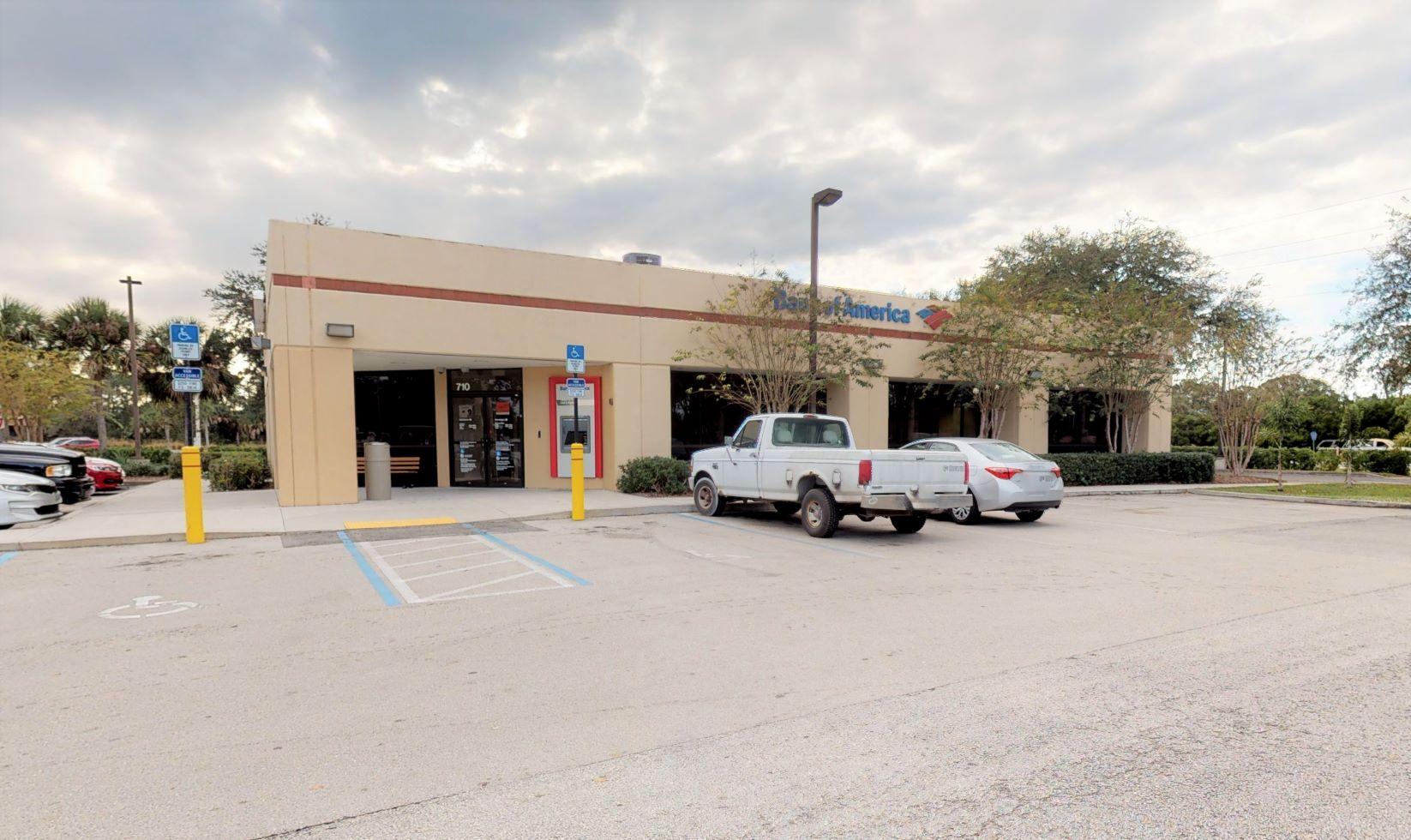 Bank of America financial center with drive-thru ATM | 710 S Fleming St, Sebastian, FL 32958