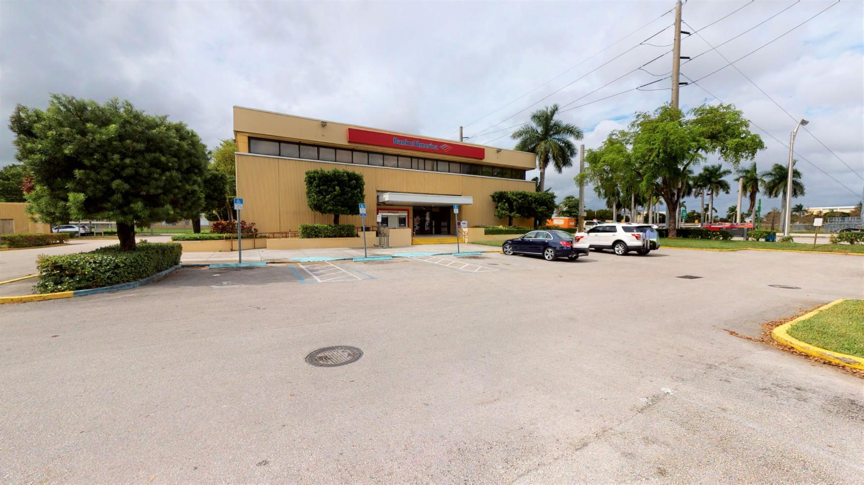 Bank of America financial center with drive-thru ATM   7760 W Flagler St, Miami, FL 33144