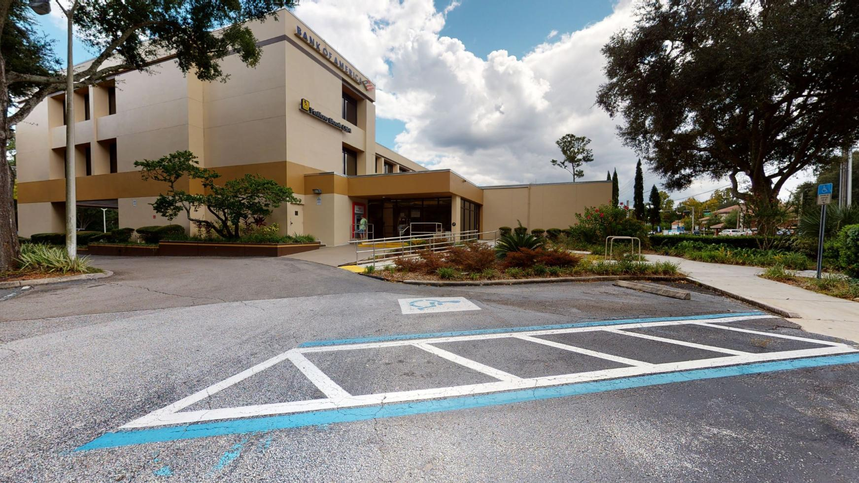 Bank of America financial center with drive-thru ATM   2627 NW 43Rd St, Gainesville, FL 32606