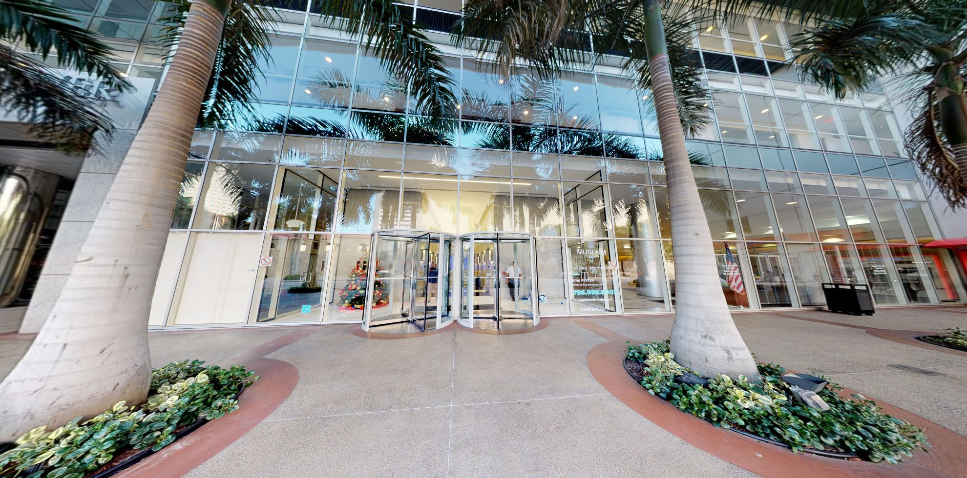Bank of America financial center with walk-up ATM   150 W Flagler St, Miami, FL 33130