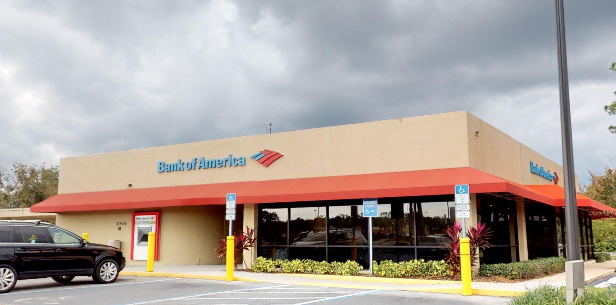 Bank of America financial center with drive-thru ATM   3094 S Orlando Dr, Sanford, FL 32773