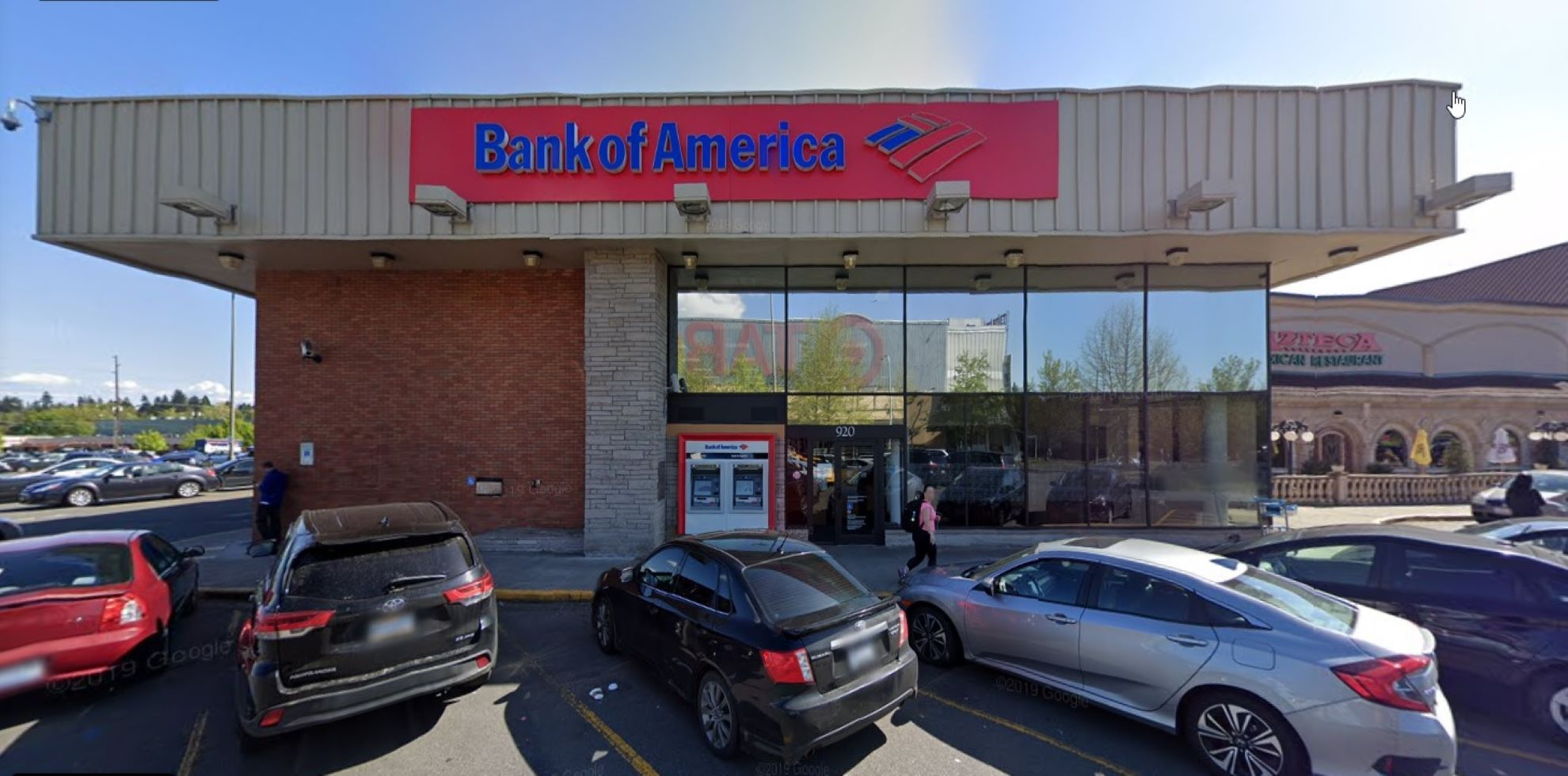 Bank of America financial center with walk-up ATM   401 NE Northgate Way SPC 920, Seattle, WA 98125