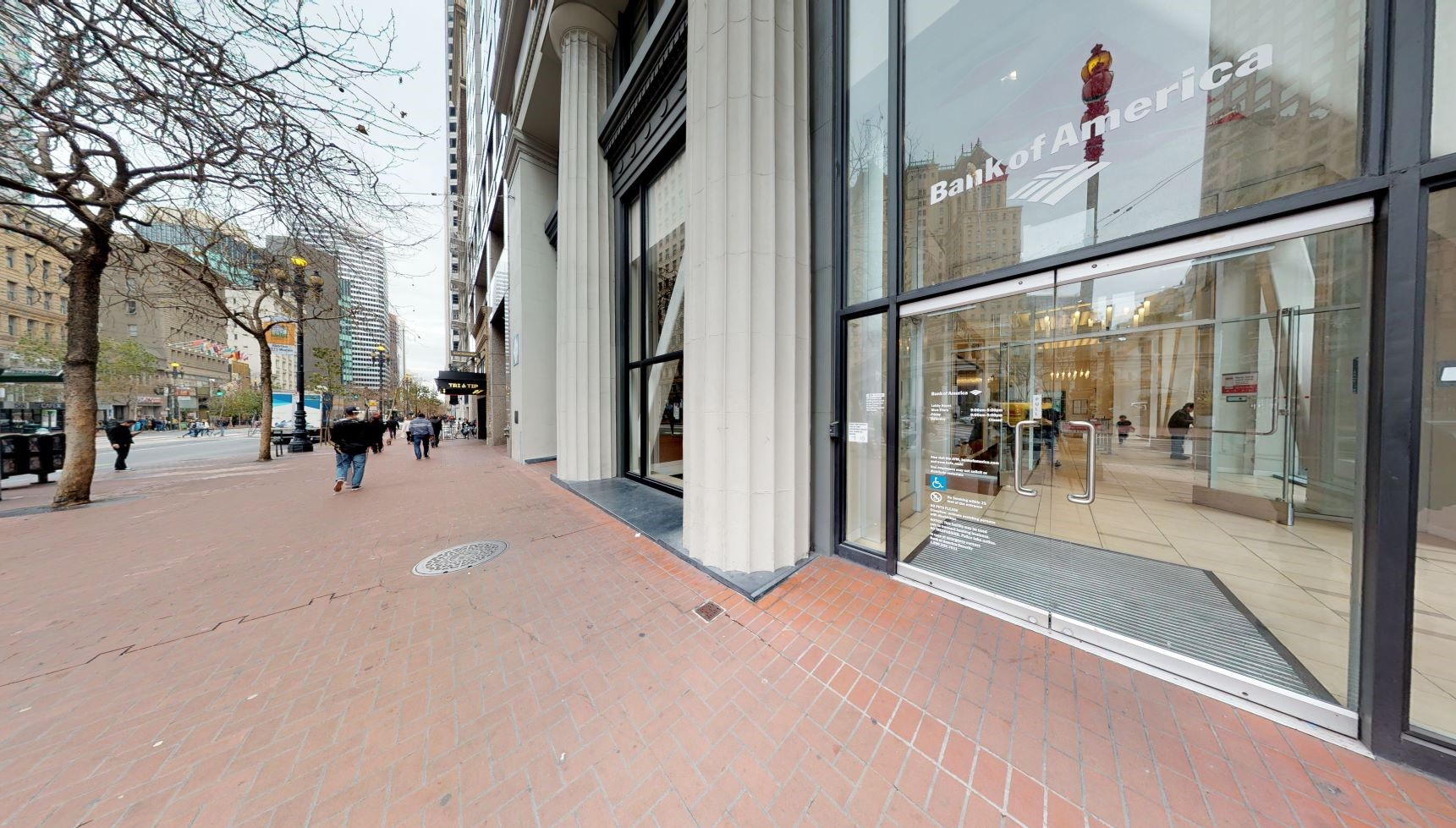 Bank of America financial center with walk-up ATM   33 New Montgomery St, San Francisco, CA 94105