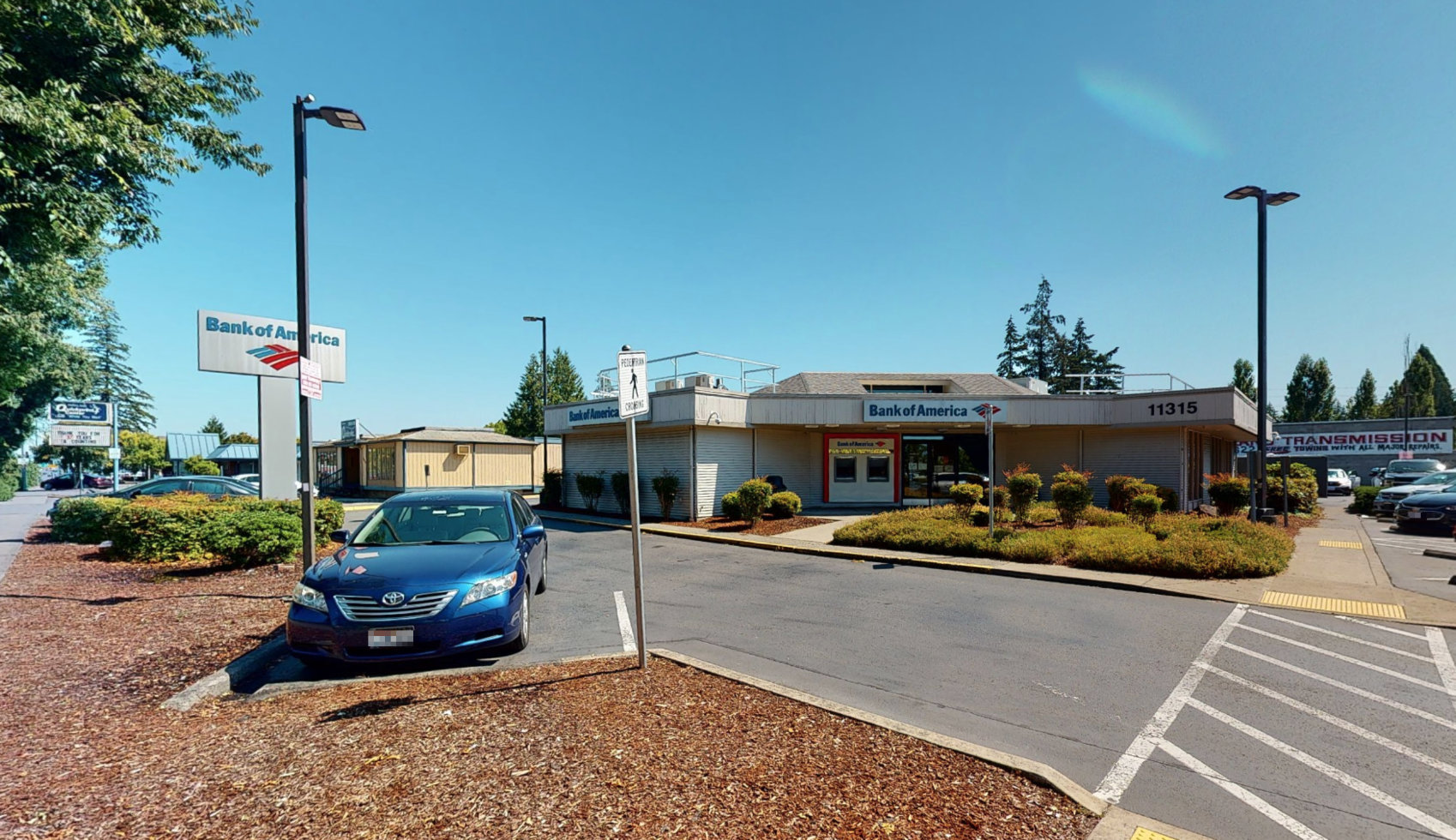 Bank of America financial center with walk-up ATM | 11315 Pacific Ave S, Tacoma, WA 98444