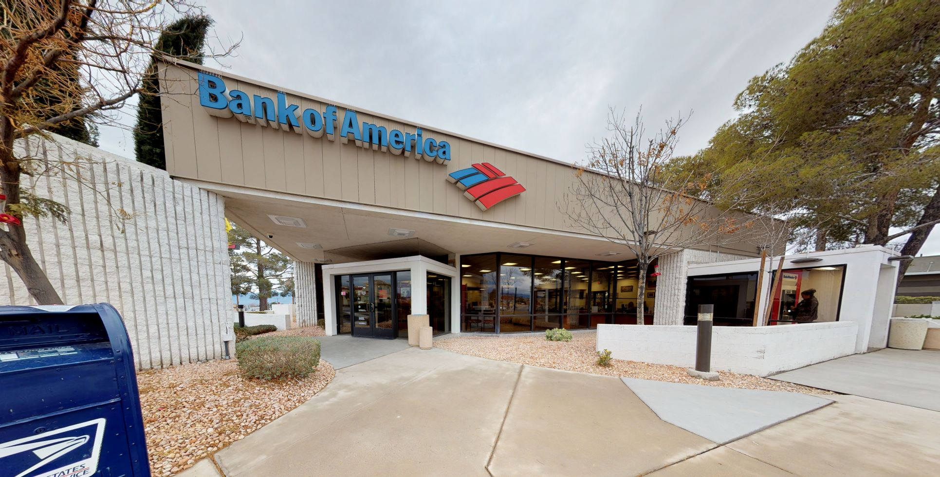 Bank of America financial center with drive-thru ATM   750 S Highway 160, Pahrump, NV 89048