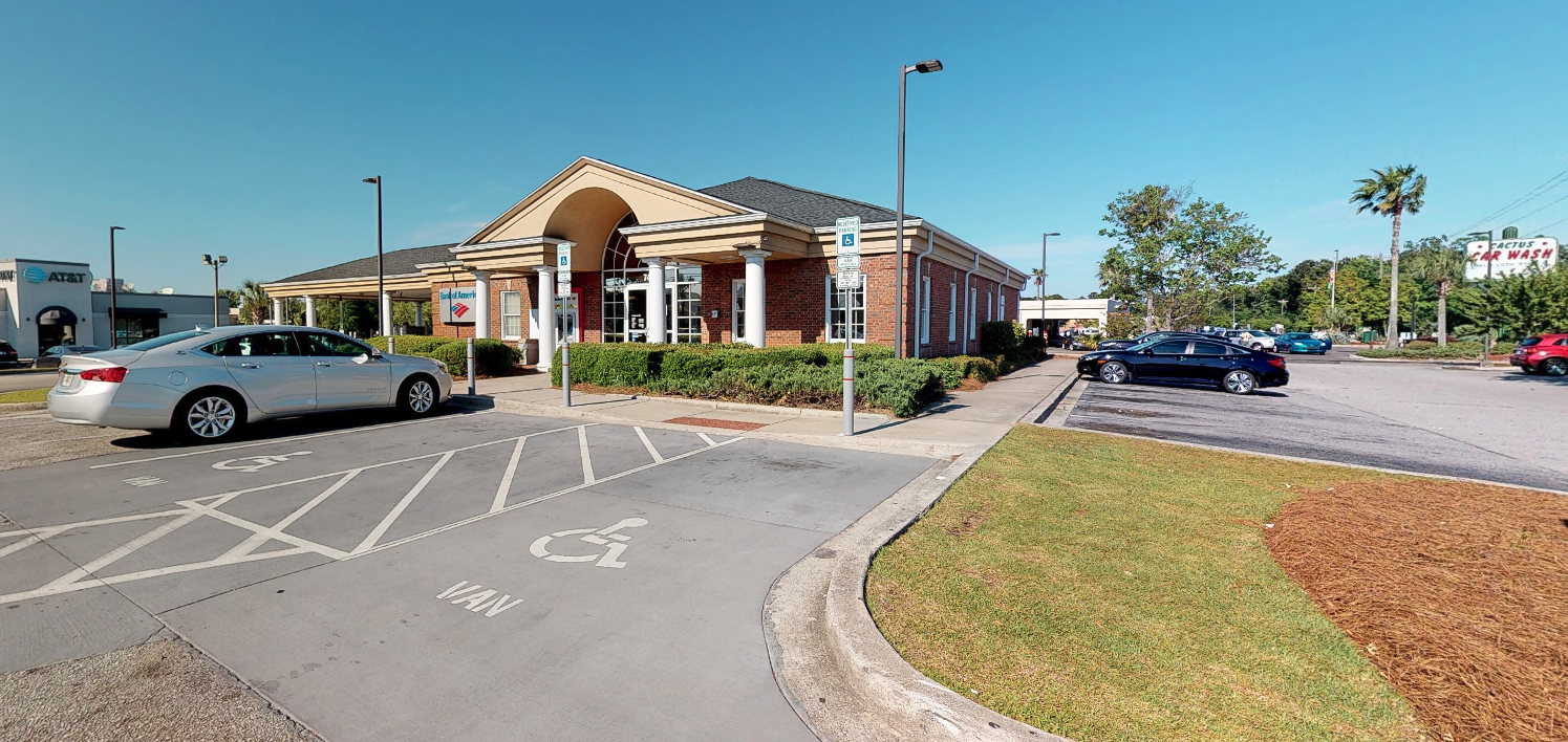 Bank of America financial center with drive-thru ATM and teller | 7420 Rivers Ave, North Charleston, SC 29406