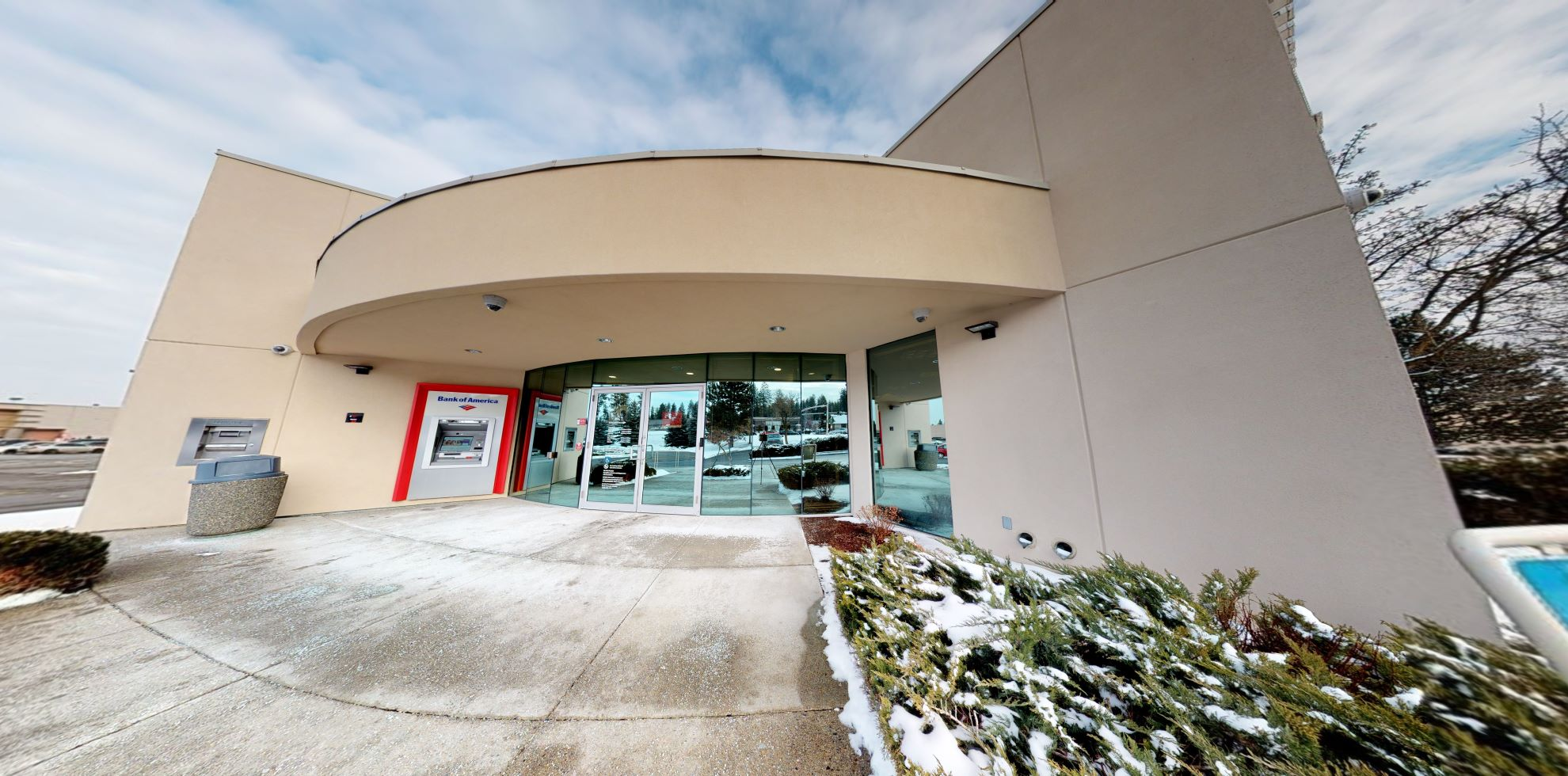 Bank of America financial center with drive-thru ATM and teller | 357 W Canfield Ave, Coeur D Alene, ID 83815