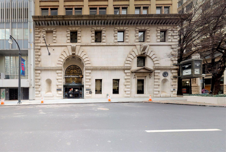 Bank of America financial center with walk-up ATM | 35 Broad St NW, Atlanta, GA 30303