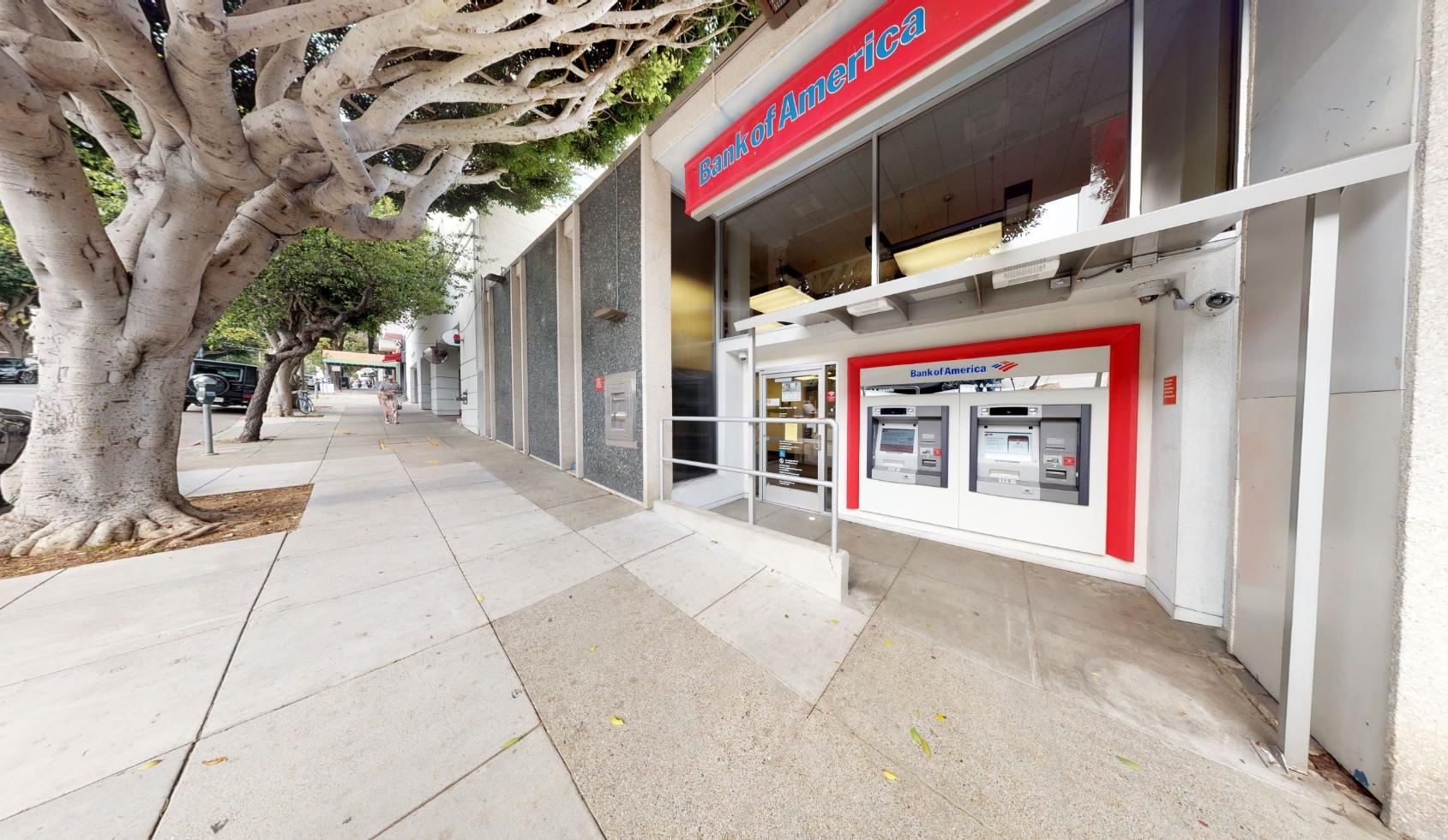 Bank of America financial center with walk-up ATM   2310 Fillmore St, San Francisco, CA 94115
