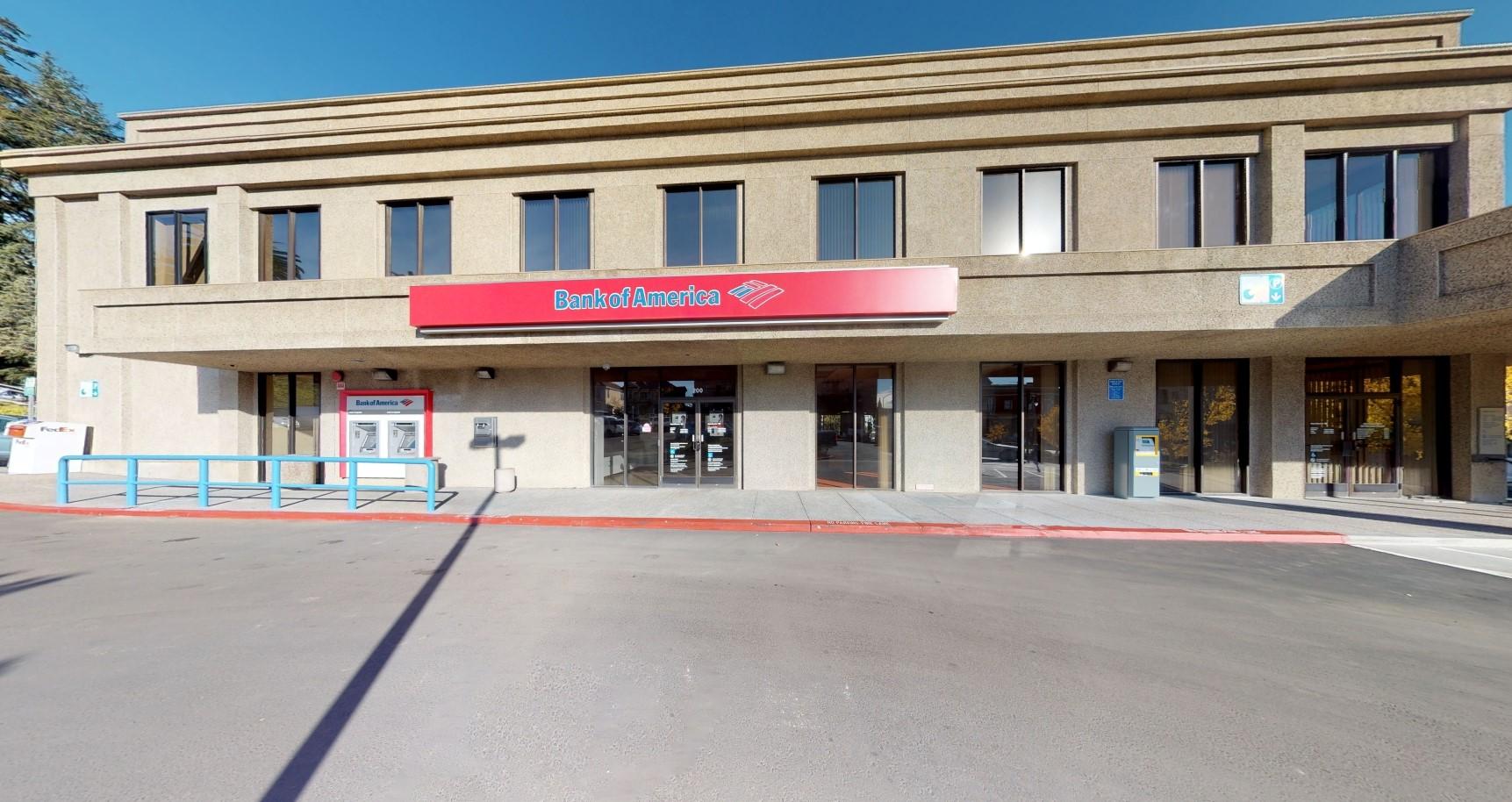 Bank of America financial center with walk-up ATM | 200 Kentucky St, Petaluma, CA 94952