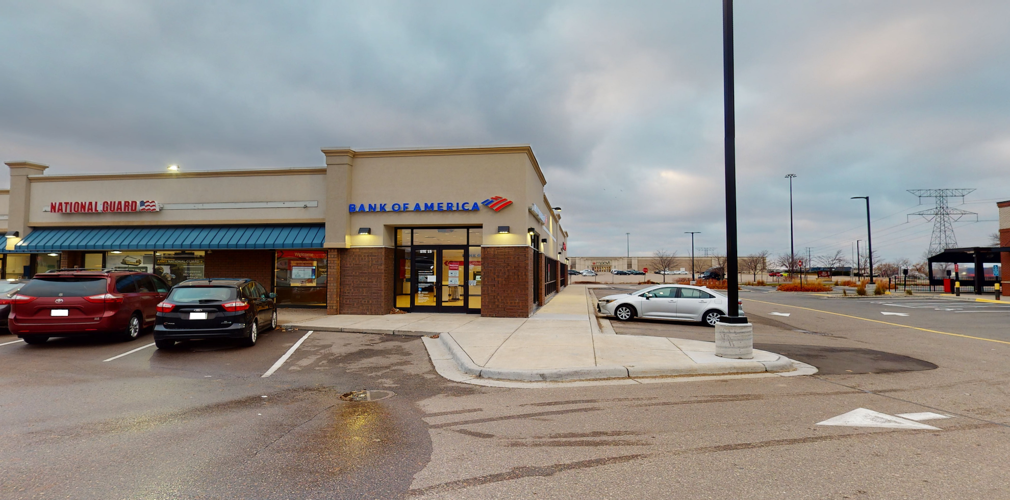 Bank of America Advanced Center with walk-up ATM   3035 White Bear Ave N STE 15, Maplewood, MN 55109
