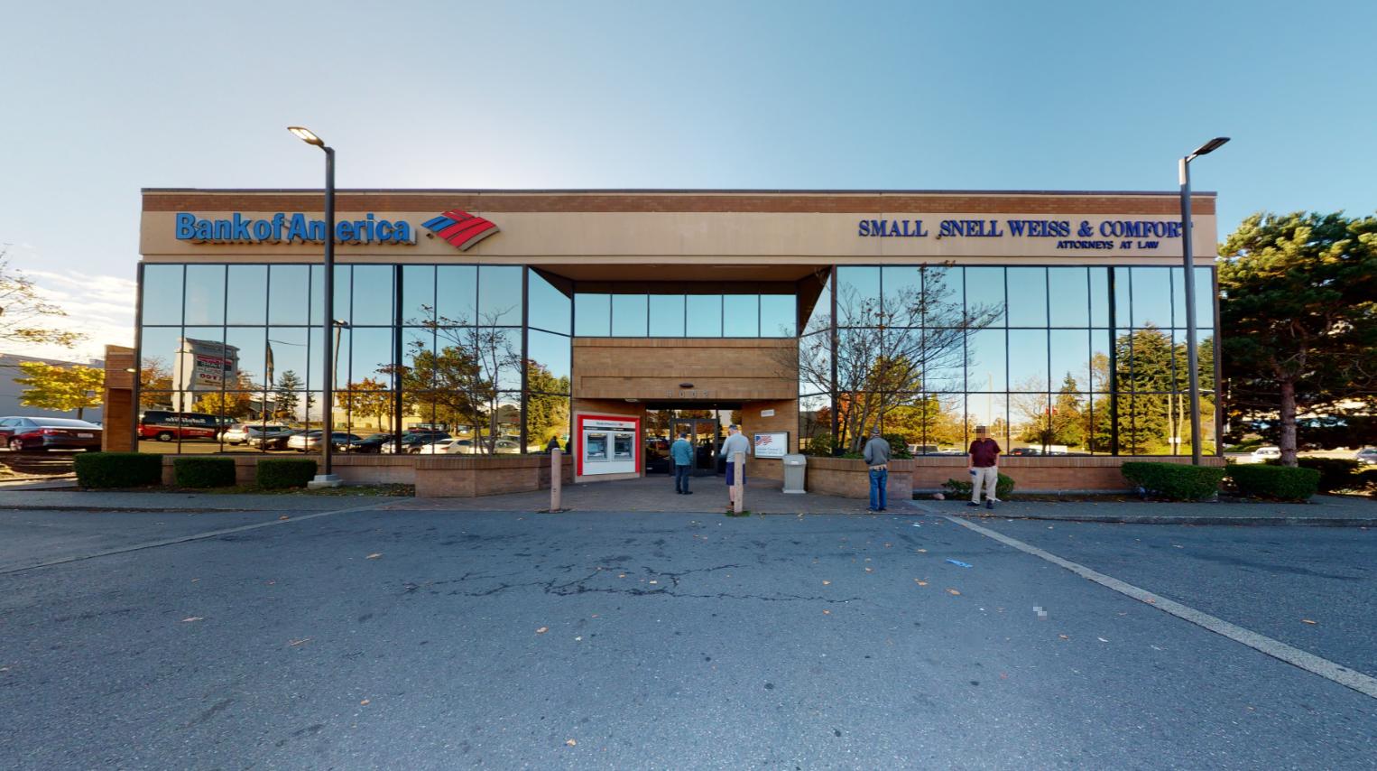 Bank of America financial center with walk-up ATM   4002 Tacoma Mall Blvd, Tacoma, WA 98409