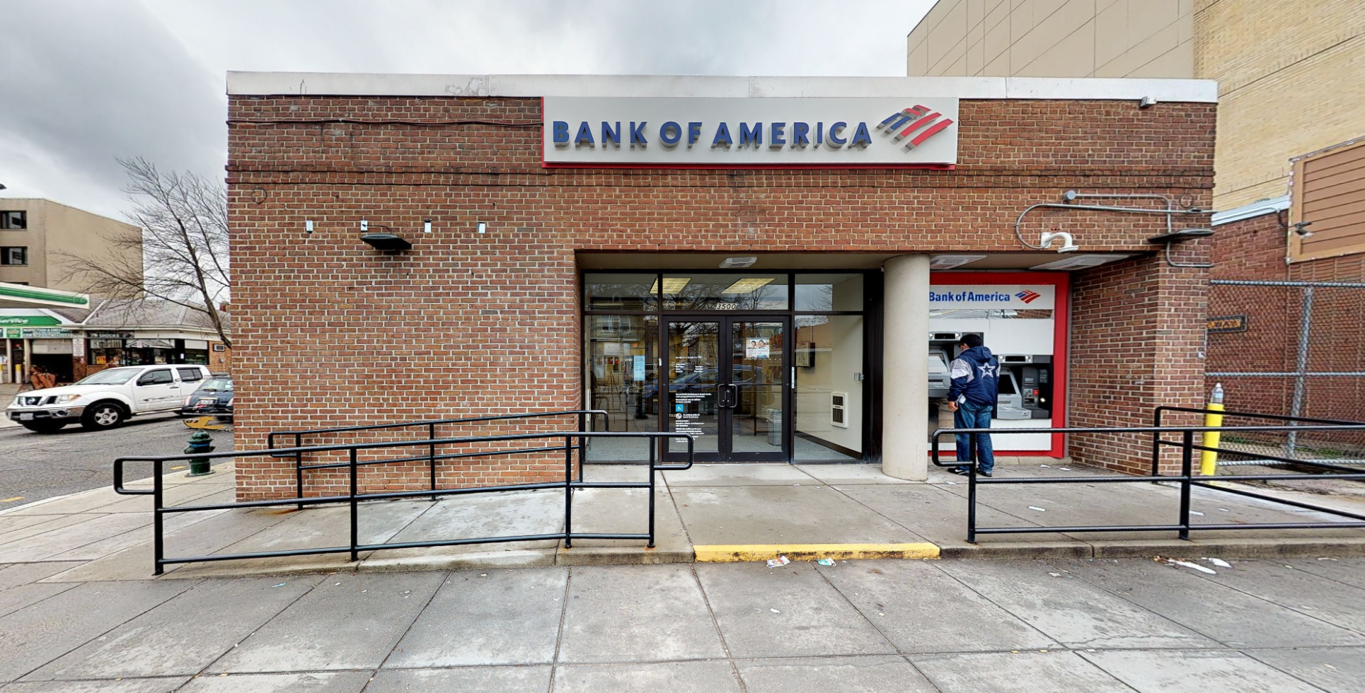 Bank of America financial center with walk-up ATM   3500 Georgia Ave NW, Washington, DC 20010
