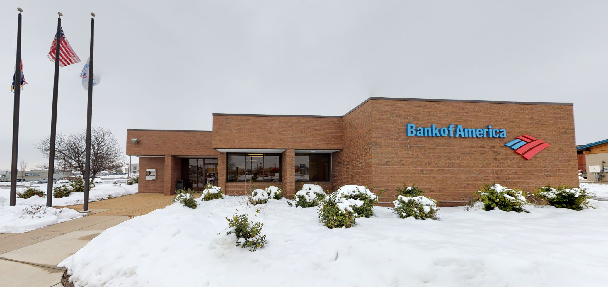 Bank of America financial center with drive-thru ATM   200 Mid Rivers Mall Cir, Saint Peters, MO 63376