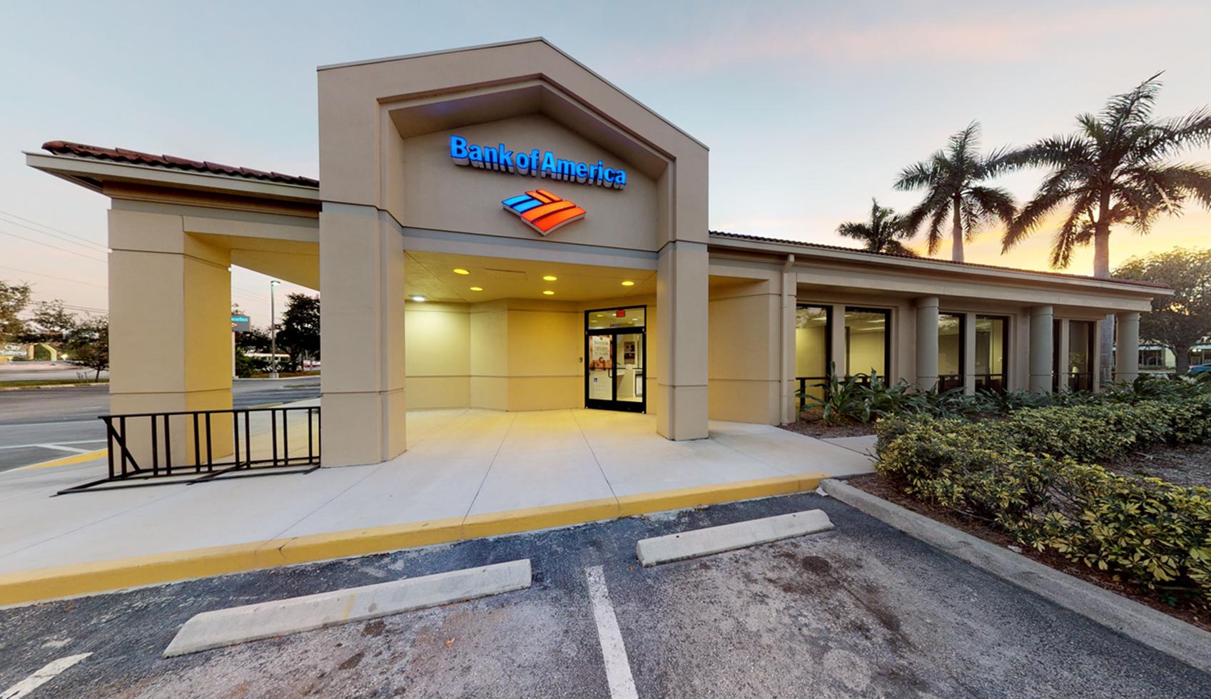 Bank of America financial center with drive-thru ATM | 24550 S Tamiami Trl, Bonita Springs, FL 34134