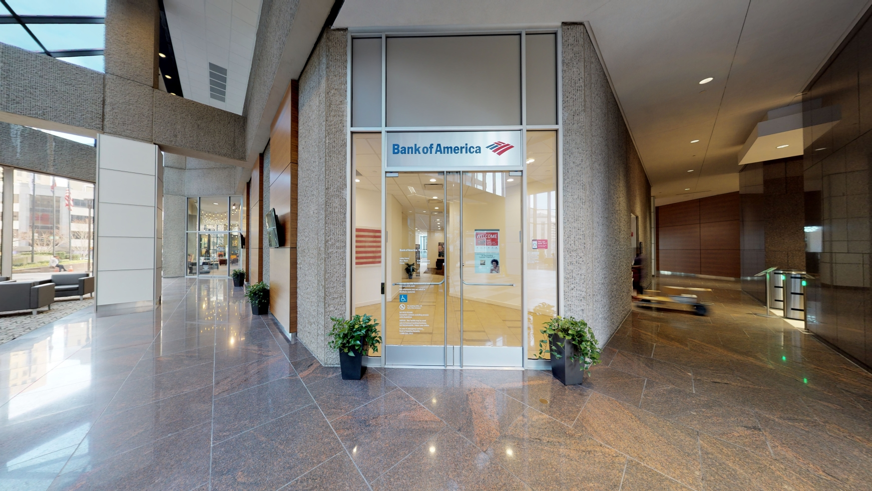 Bank of America financial center with walk-up ATM | 414 Union St, Nashville, TN 37219