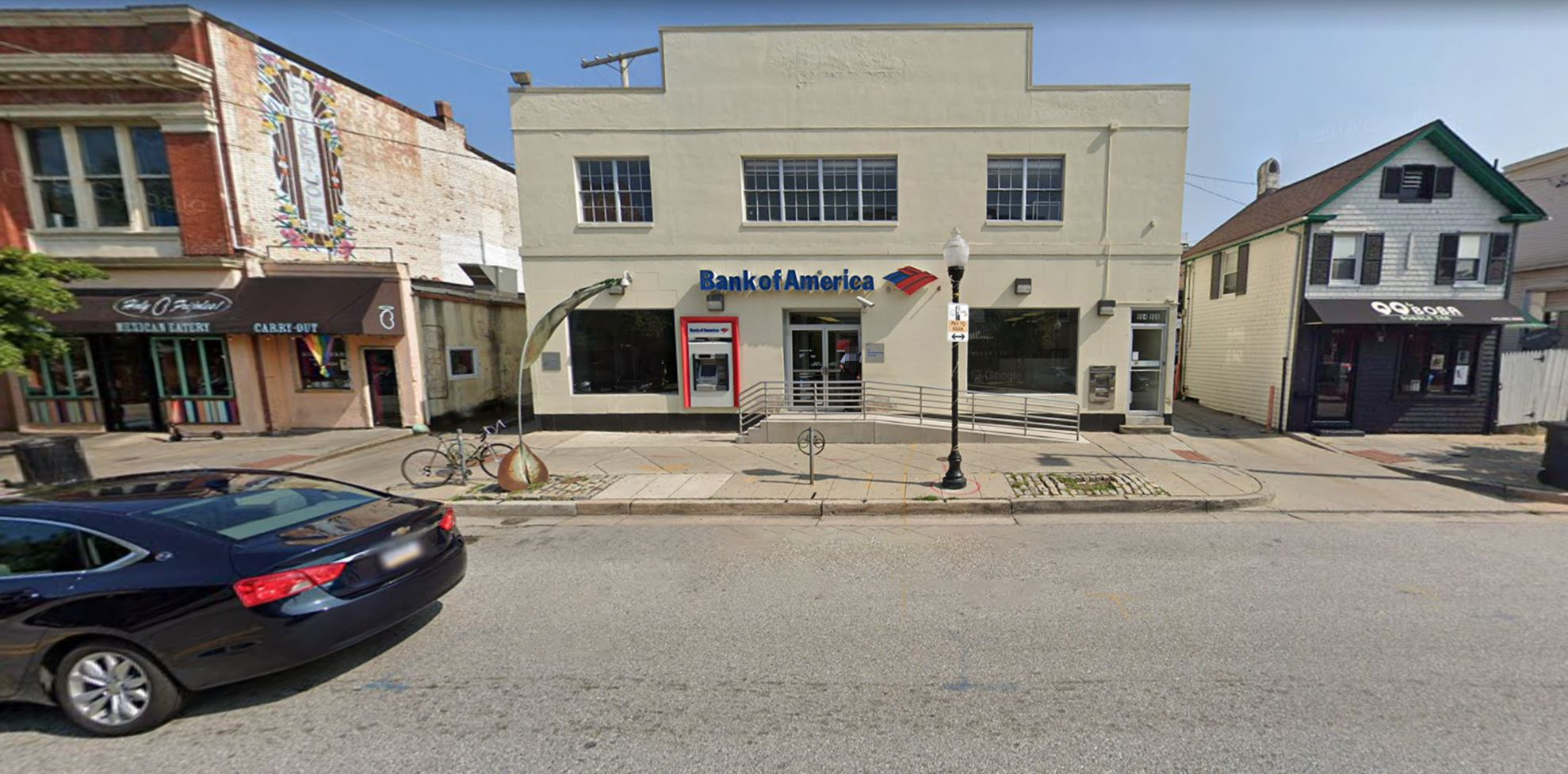 Bank of America financial center with walk-up ATM | 902 W 36th St, Baltimore, MD 21211