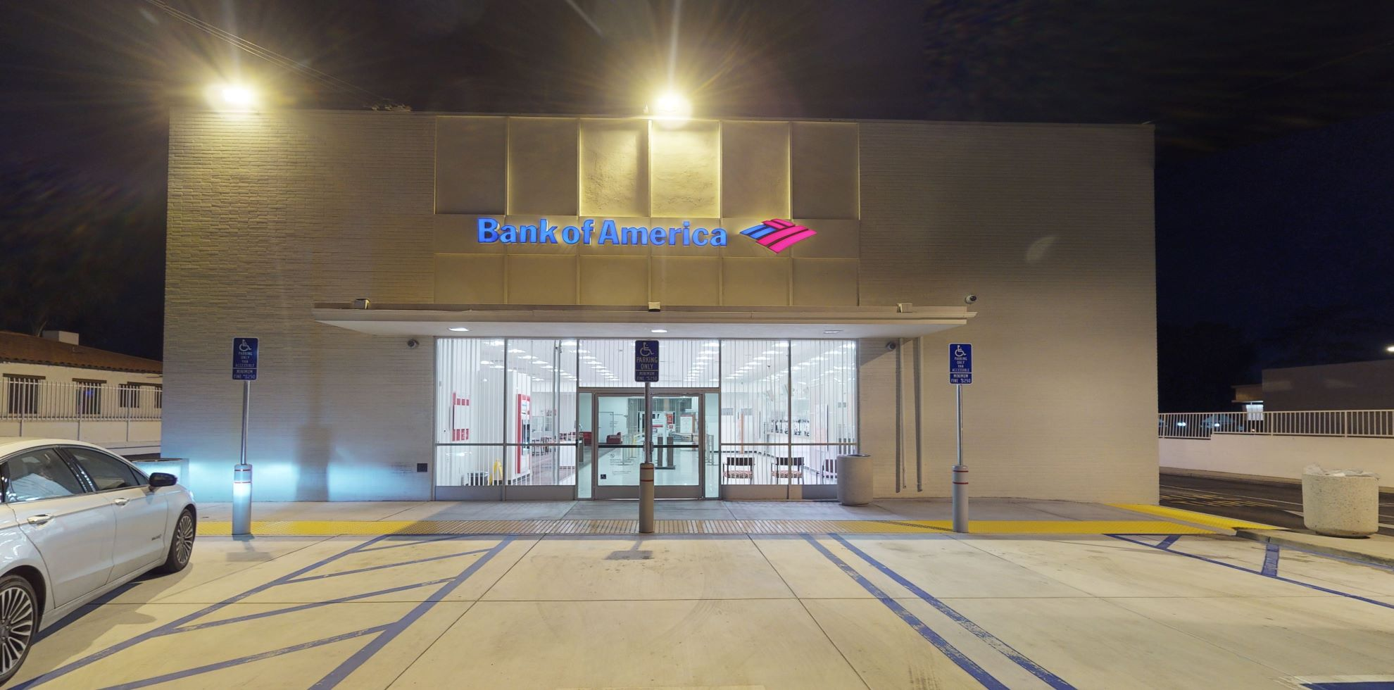 Bank of America financial center with drive-thru ATM | 735 N Euclid Ave, Ontario, CA 91762