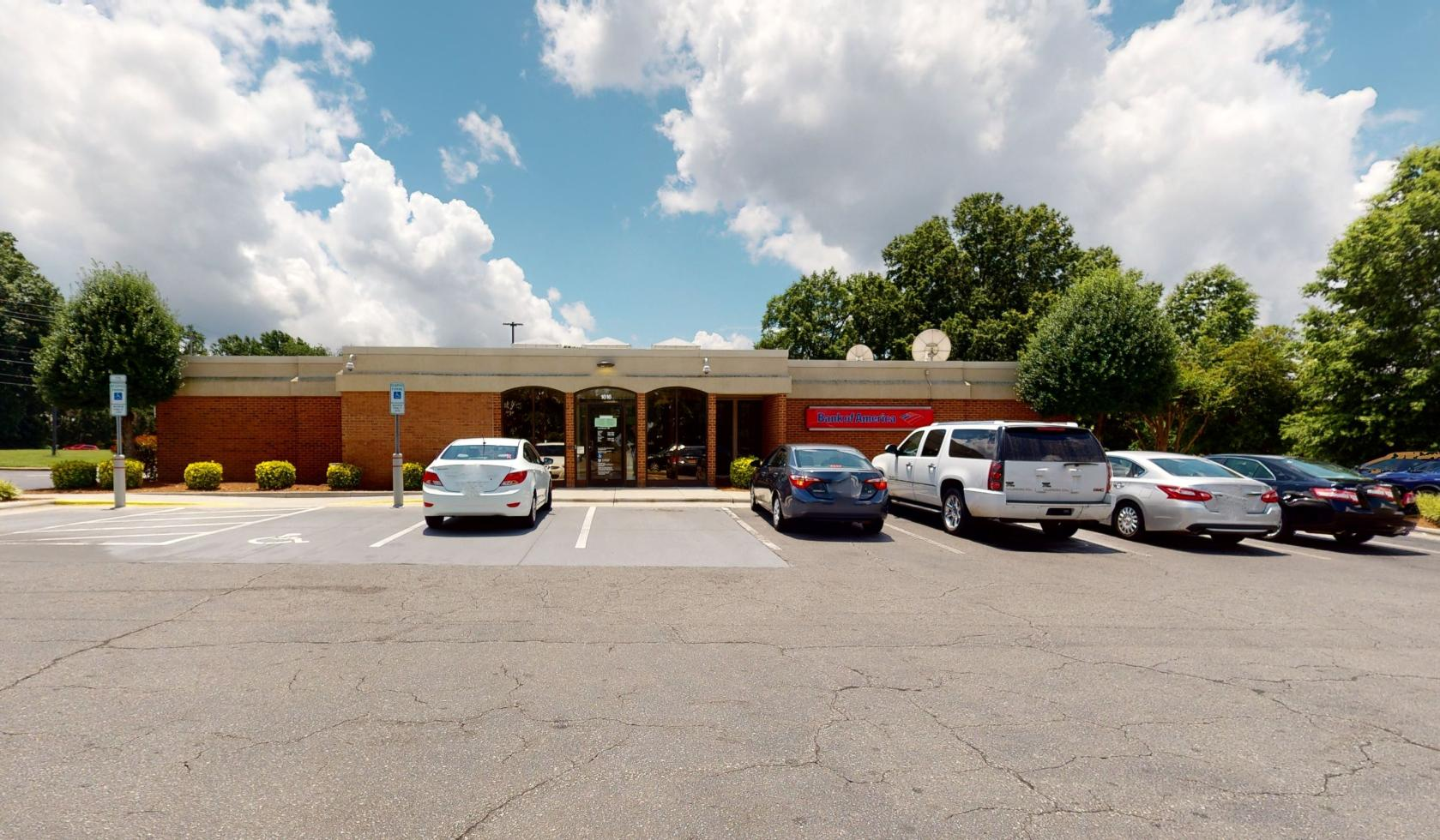 Bank of America financial center with drive-thru ATM and teller | 1616 E Broad St, Statesville, NC 28625