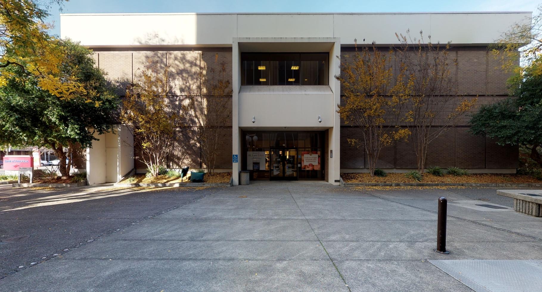 Bank of America financial center with walk-up ATM   10 Santa Rosa Ave, Santa Rosa, CA 95404