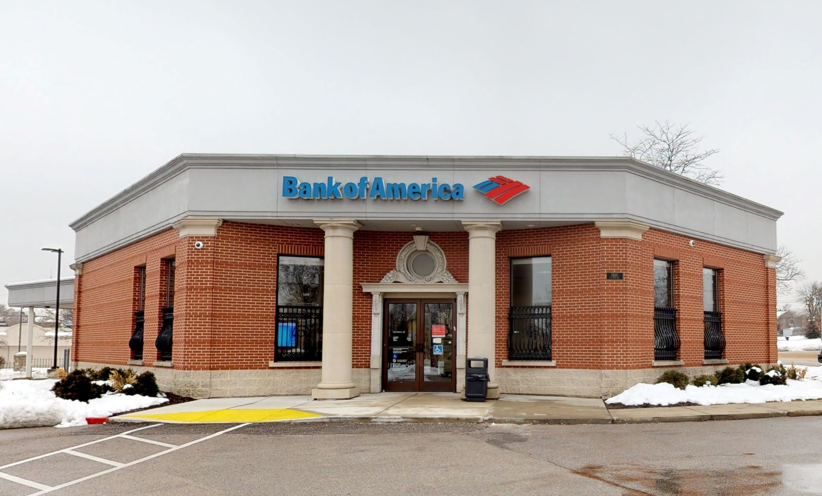 Bank of America financial center with drive-thru ATM   1500 Saint Louis Ave, Saint Louis, MO 63106