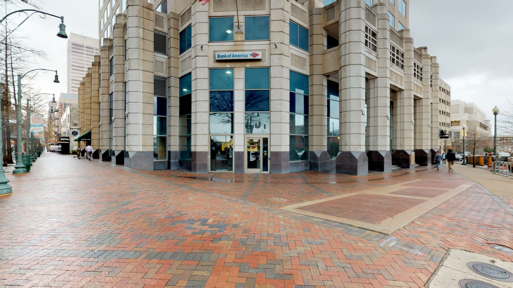 Bank of America financial center with walk-up ATM | 100 Peabody Pl, Memphis, TN 38103