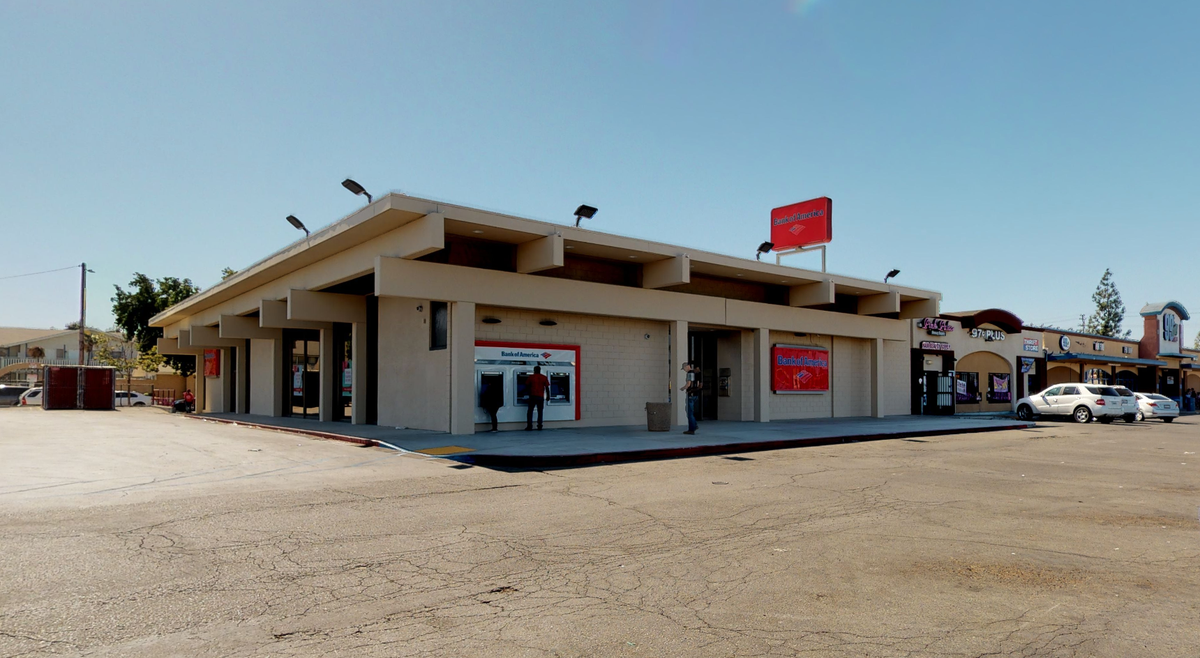 Bank of America financial center with walk-up ATM | 1111 W Shields Ave, Fresno, CA 93705