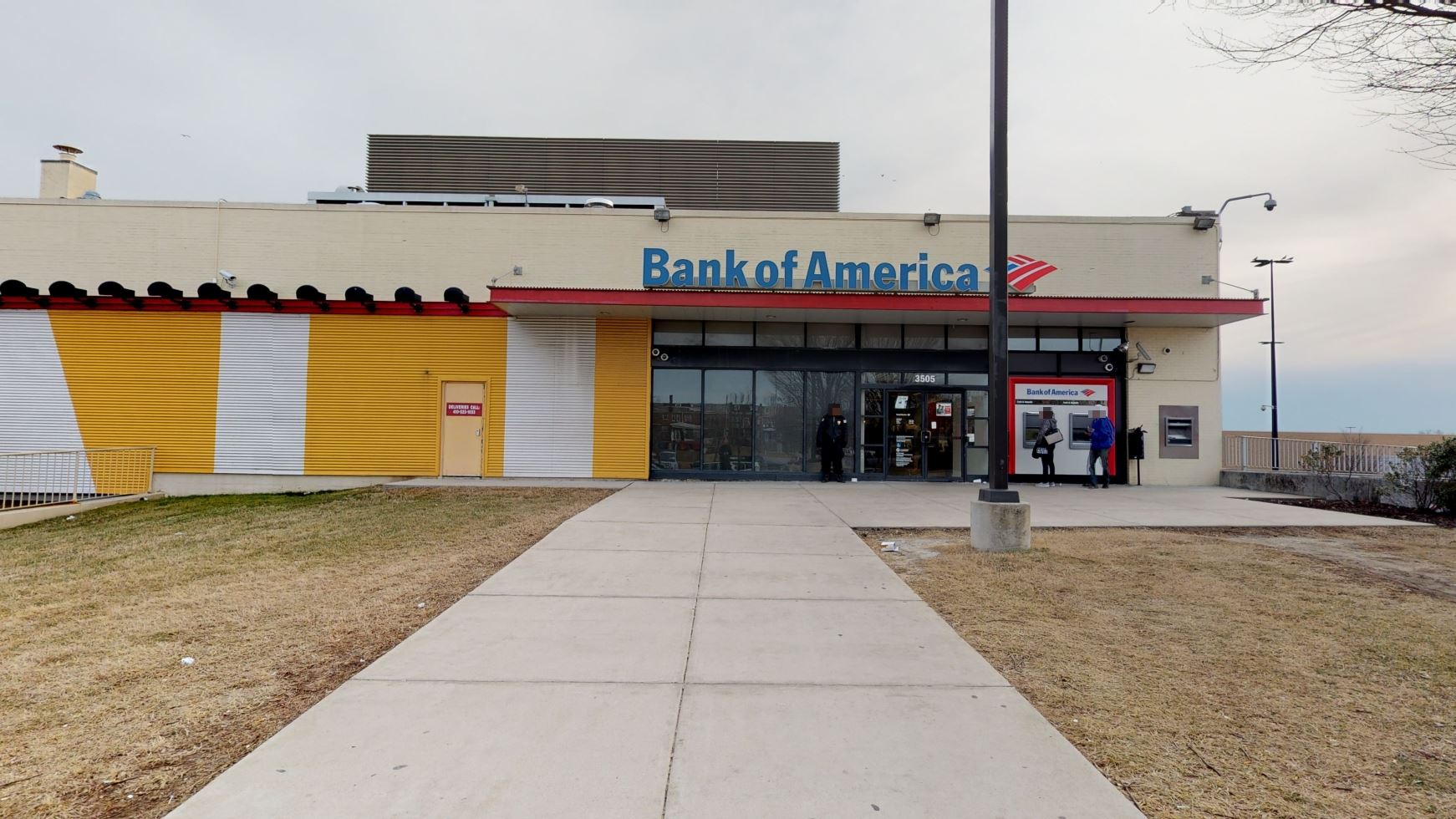 Bank of America financial center with walk-up ATM | 2401 Liberty Heights Ave STE 3140, Baltimore, MD 21215