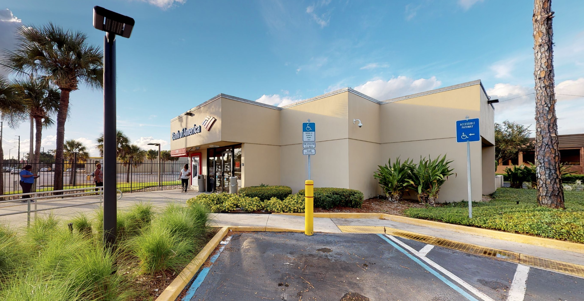 Bank of America financial center with drive-thru ATM and teller   7105 Silver Star Rd, Orlando, FL 32818