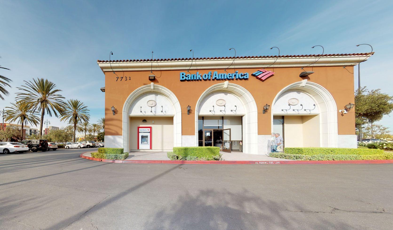 Bank of America financial center with drive-thru ATM | 7731 Edinger Ave, Huntington Beach, CA 92647
