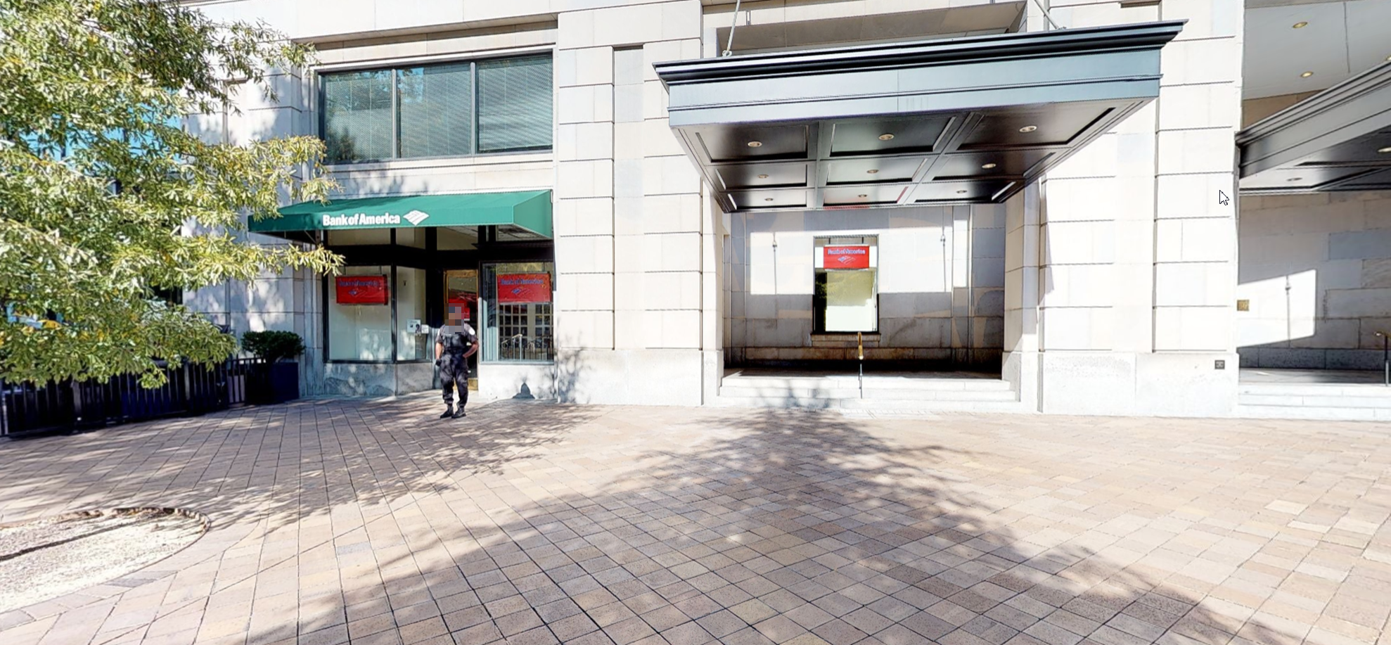 Bank of America financial center with walk-up ATM | 1001 Pennsylvania Ave NW, Washington, DC 20004