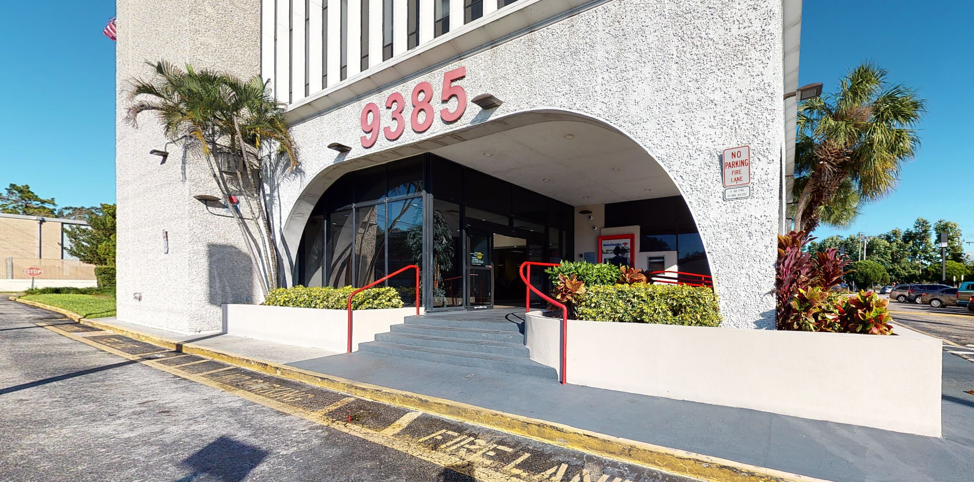 Bank of America financial center with drive-thru ATM | 9385 N 56th St, Temple Terrace, FL 33617