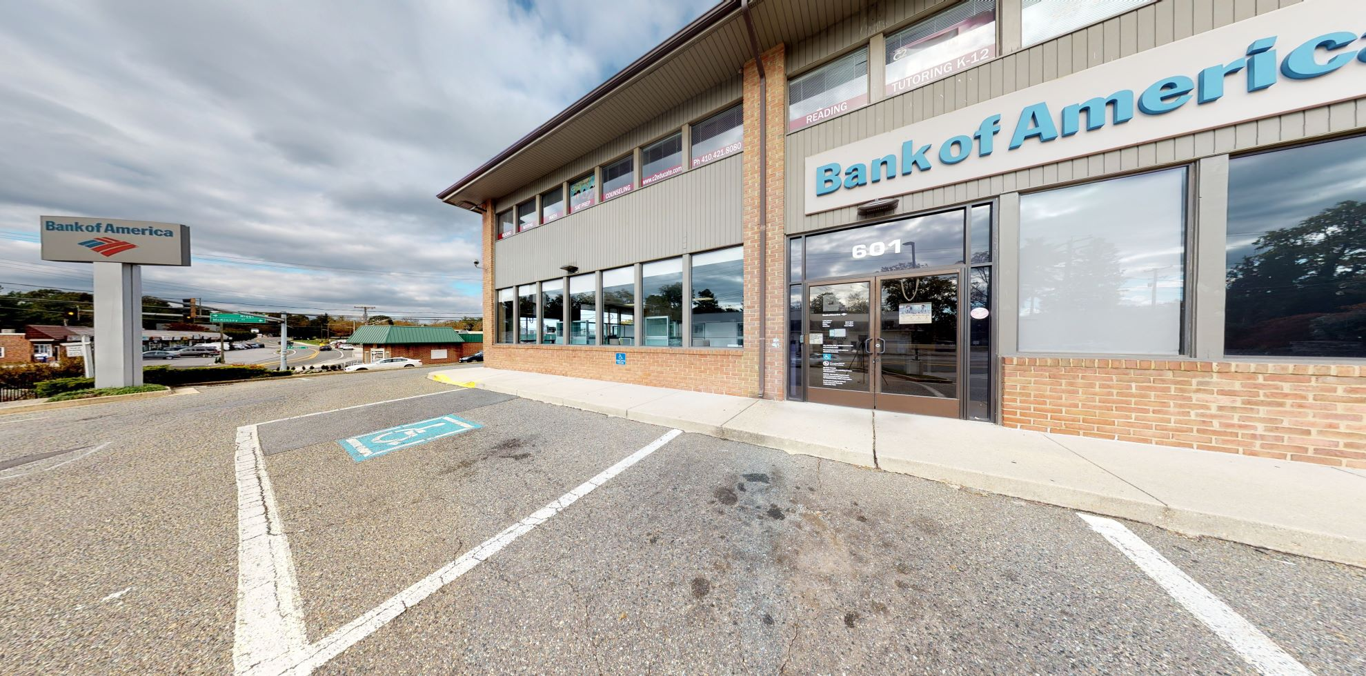 Bank of America financial center with drive-thru ATM and teller | 601 Baltimore Annapolis Blvd, Severna Park, MD 21146