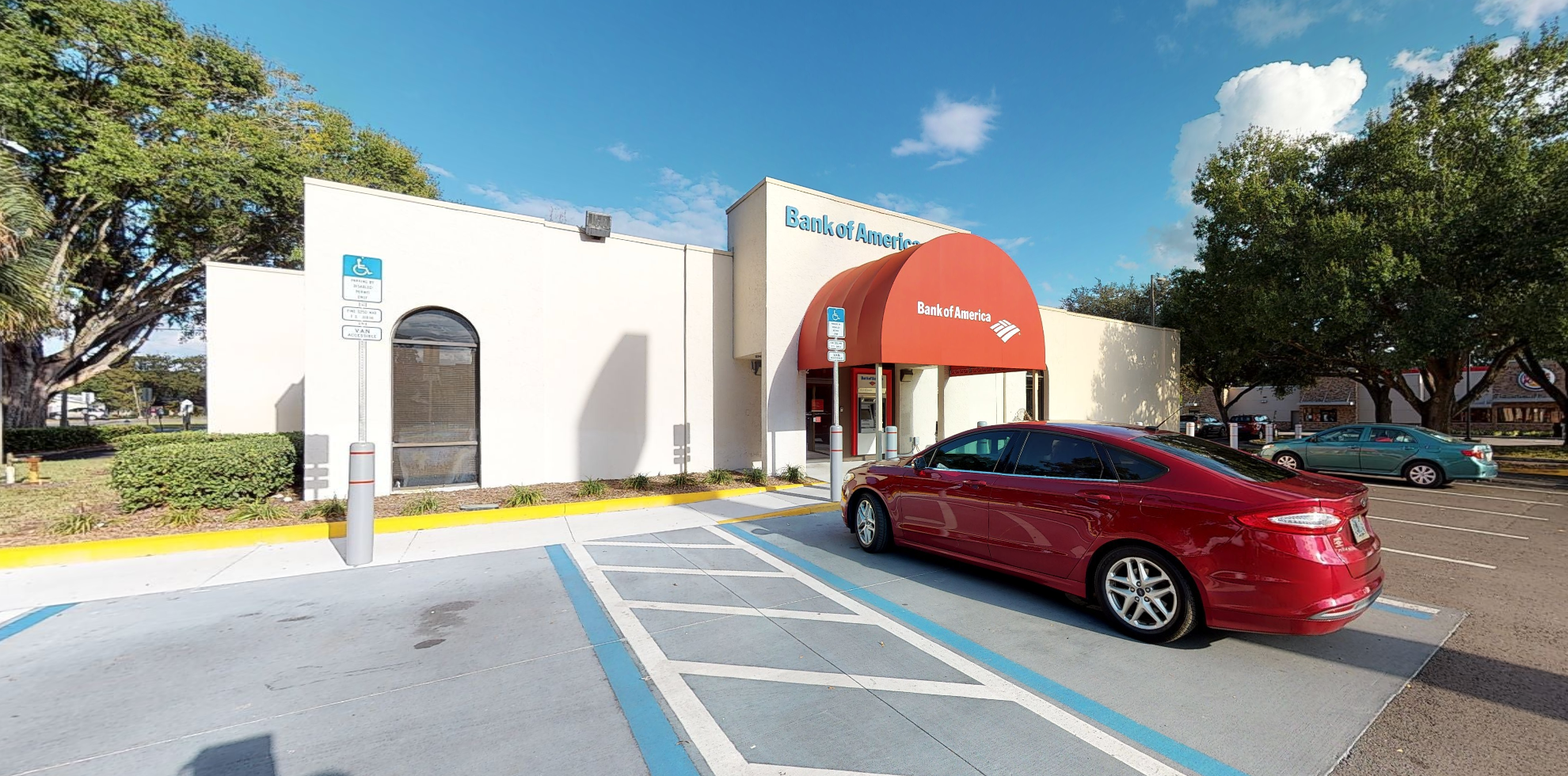 Bank of America financial center with drive-thru ATM and teller | 5632 Gall Blvd, Zephyrhills, FL 33542