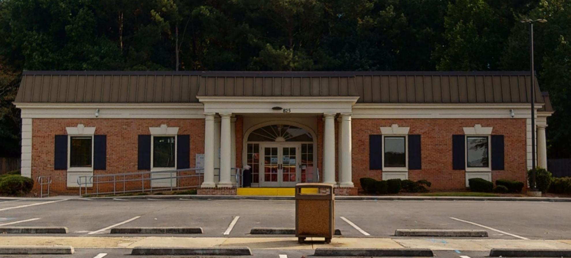 Bank of America financial center with drive-thru ATM   825 Spur 138, Jonesboro, GA 30236
