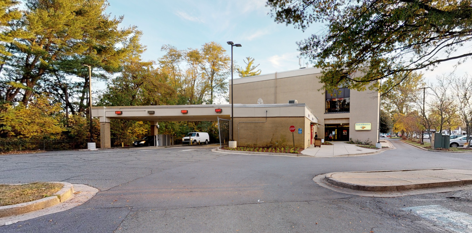 Bank of America financial center with drive-thru ATM   12125 Veirs Mill Rd, Silver Spring, MD 20906