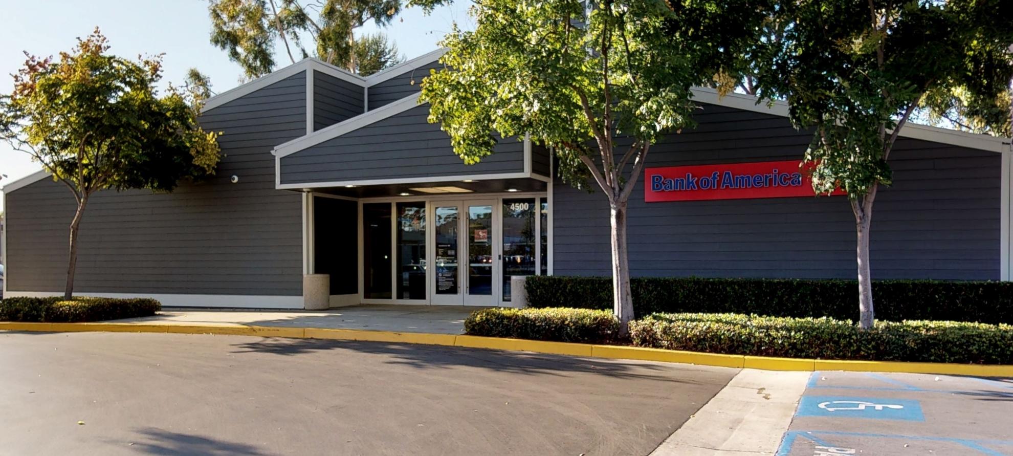 Bank of America financial center with walk-up ATM   4500 Barranca Pkwy, Irvine, CA 92604