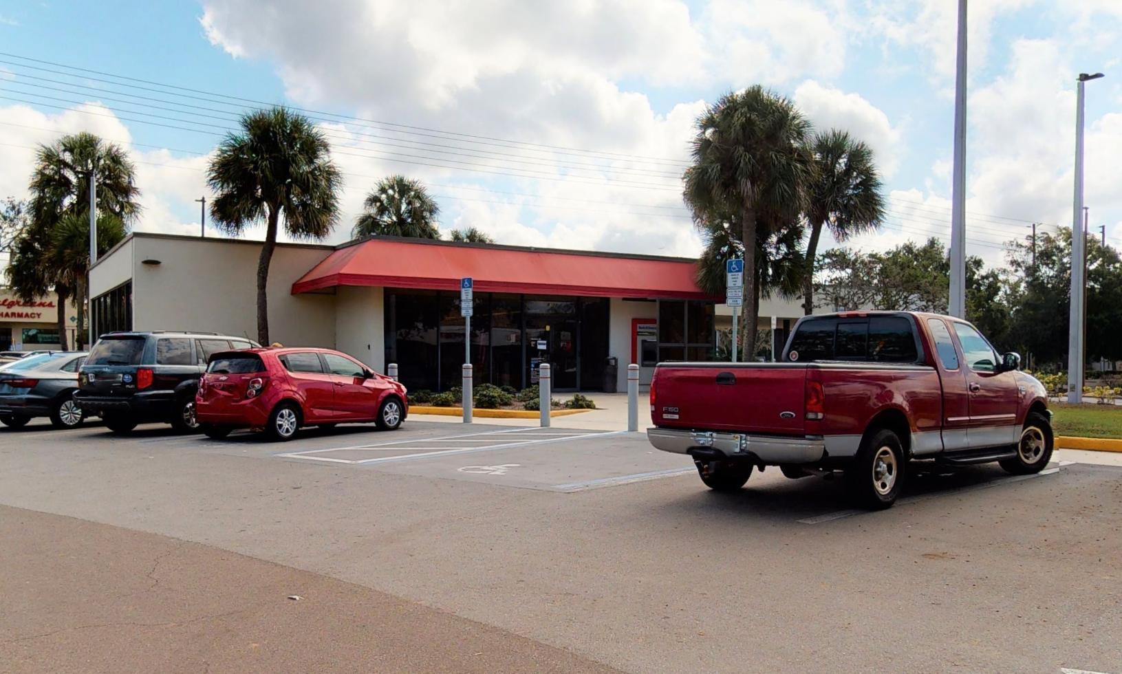 Bank of America financial center with drive-thru ATM | 8338 Embassy Blvd, Port Richey, FL 34668