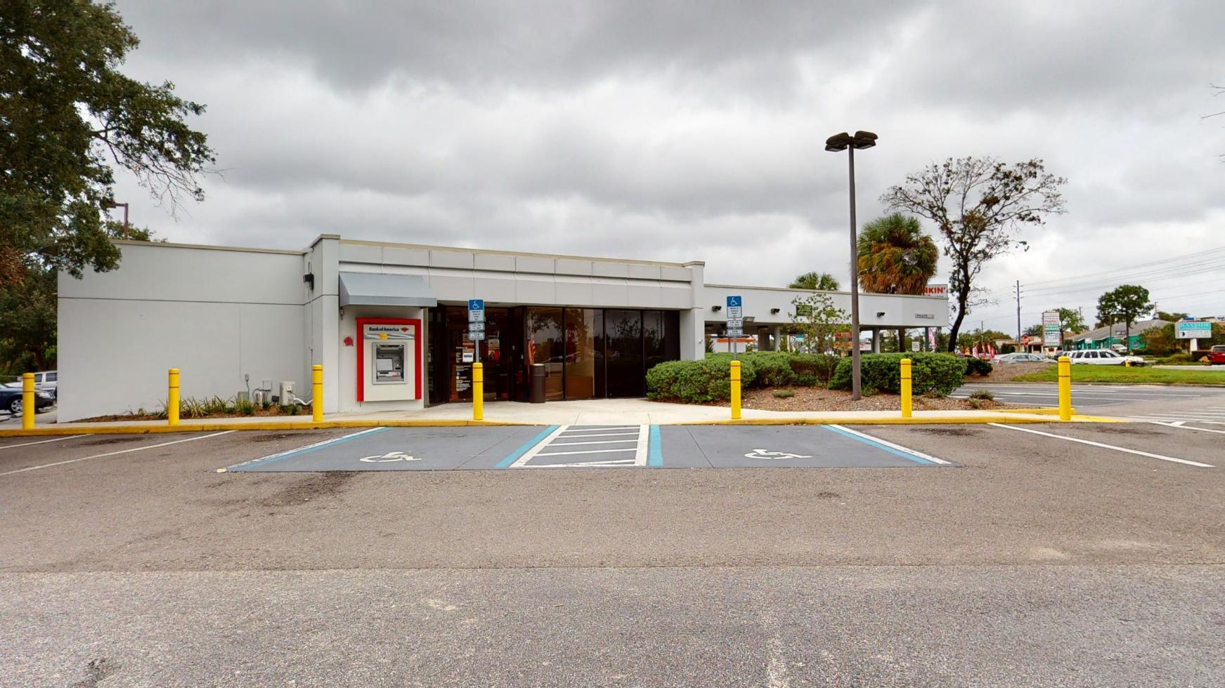 Bank of America financial center with drive-thru ATM and teller   11050 Spring Hill Dr, Spring Hill, FL 34608