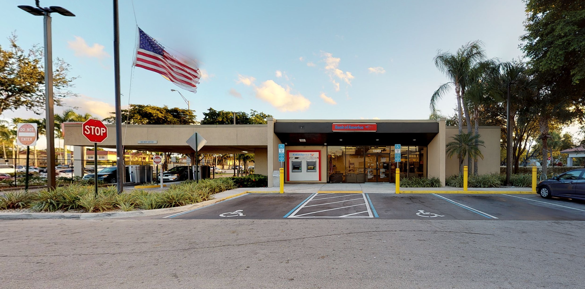 Bank of America financial center with drive-thru ATM   18400 NW 67th Ave, Hialeah, FL 33015