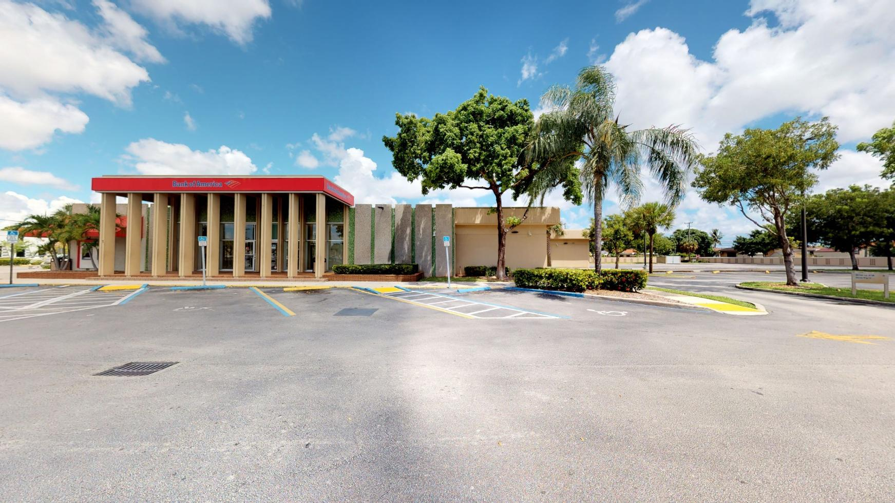 Bank of America financial center with drive-thru ATM | 1 E 49th St, Hialeah, FL 33013