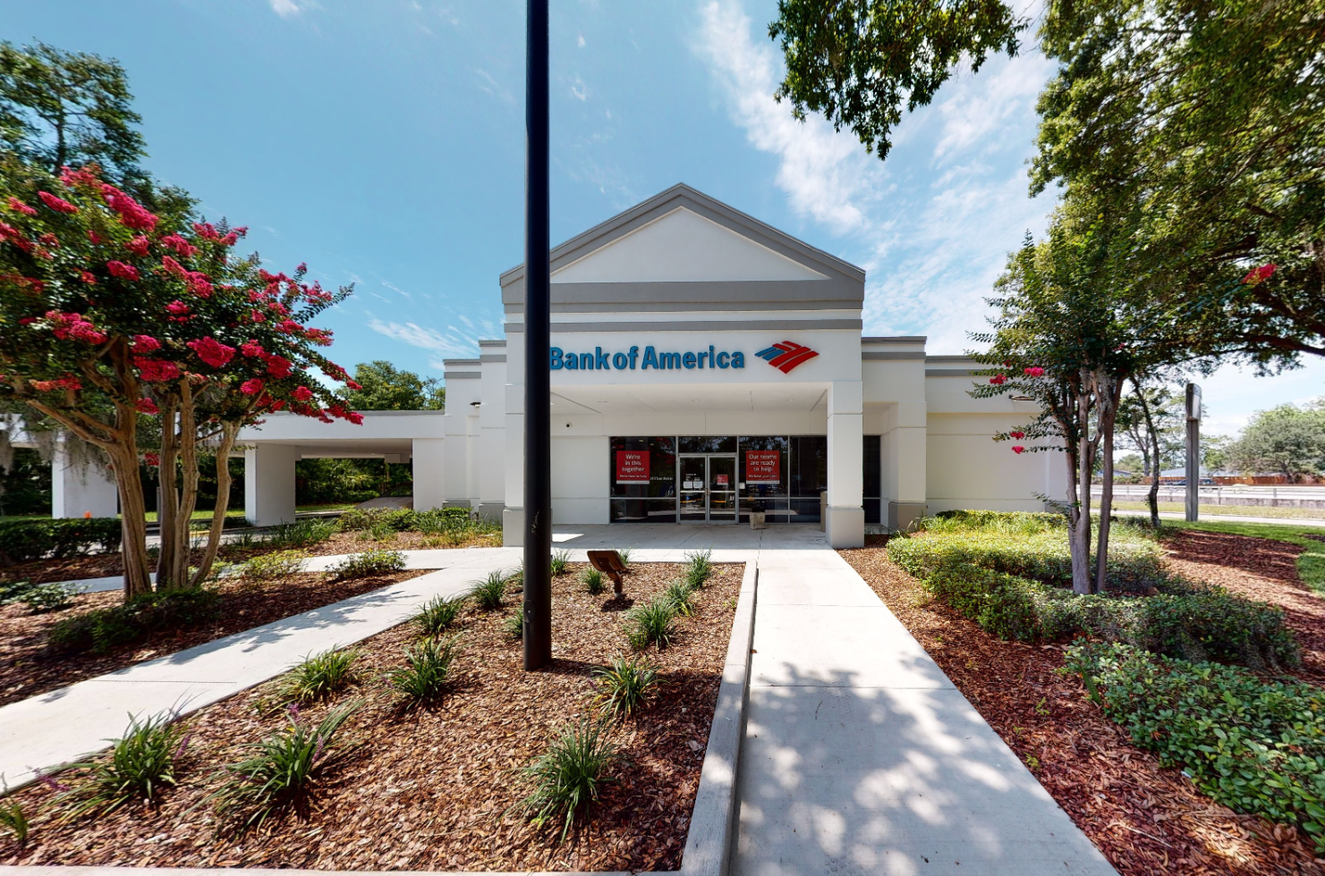 Bank of America financial center with drive-thru ATM | 4500 Wabash Ave, Jacksonville, FL 32210