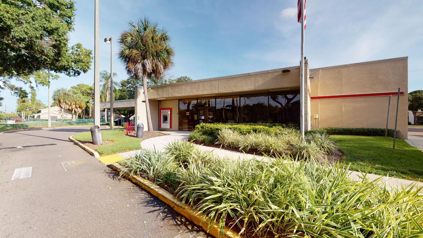 Bank of America financial center with drive-thru ATM and teller | 2800 54th Ave S, Saint Petersburg, FL 33712