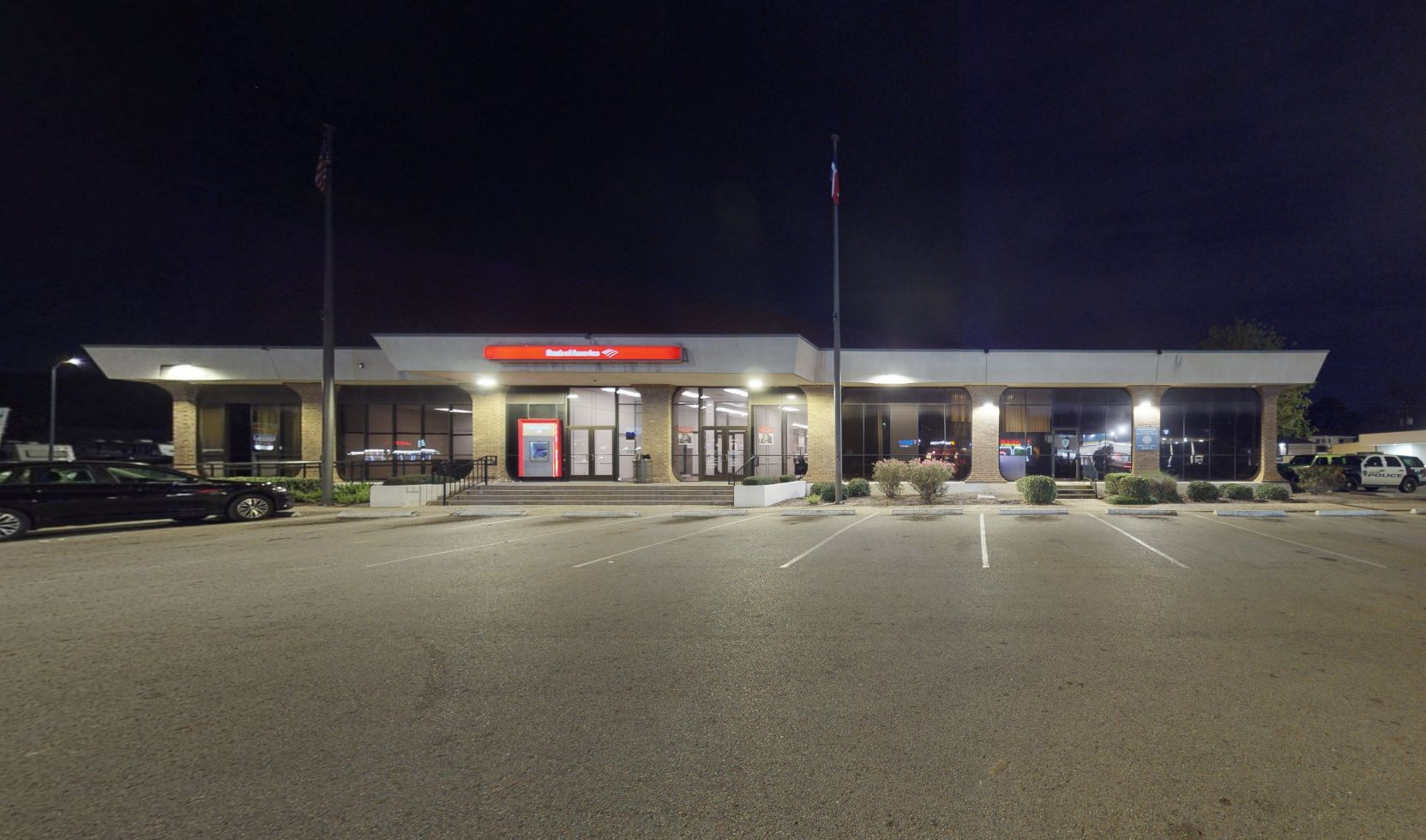 Bank of America financial center with drive-thru ATM   8400 Long Point Rd, Houston, TX 77055
