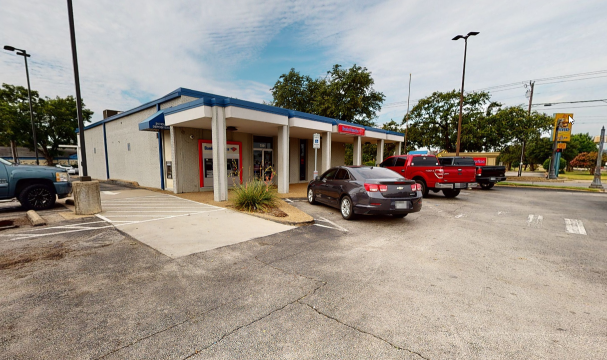 Bank of America financial center with walk-up ATM   330 W Irving Blvd, Irving, TX 75060