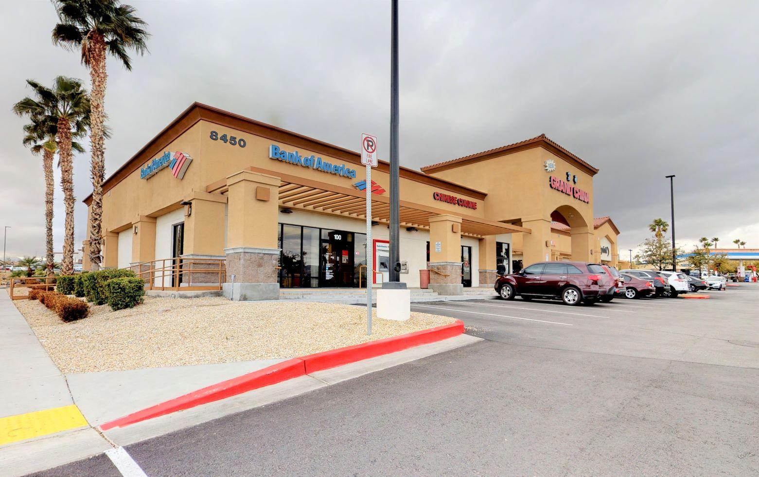 Bank of America financial center with drive-thru ATM   8450 W Farm Rd, Las Vegas, NV 89131